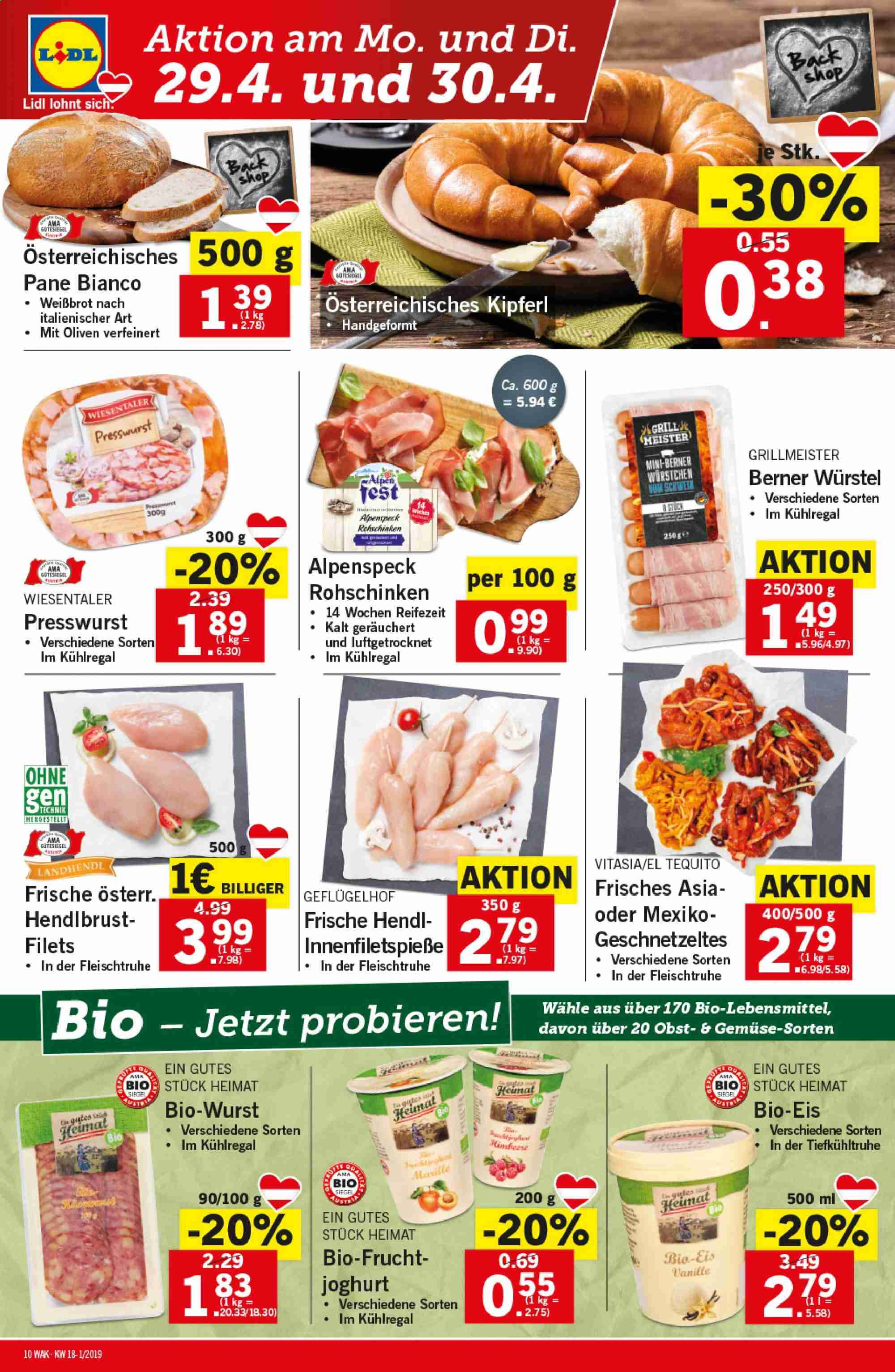 Angebote Lidl - 25.4.2019 - 30.4.2019. Seite 10.