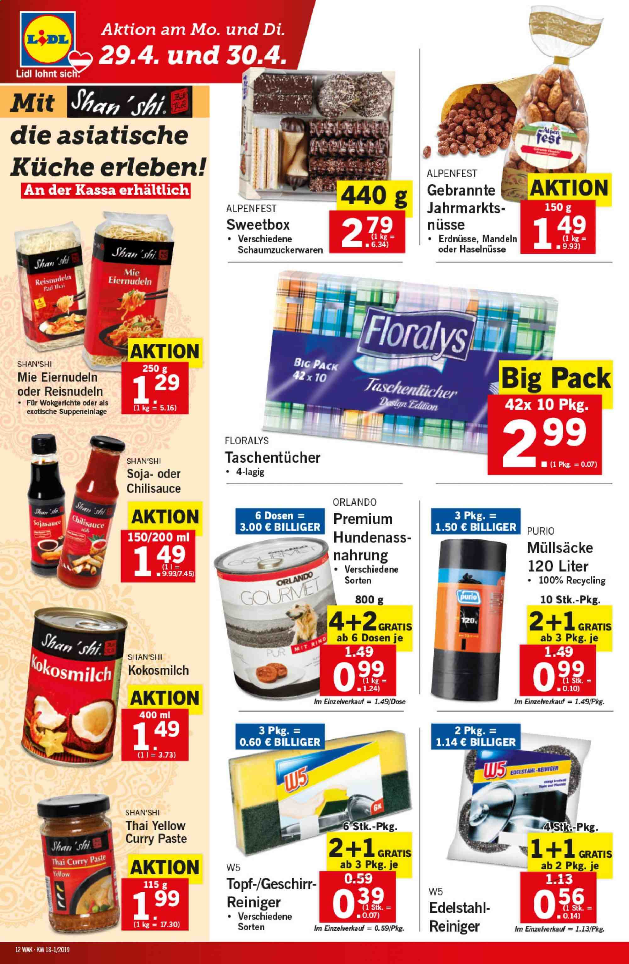 Angebote Lidl - 25.4.2019 - 30.4.2019. Seite 12.