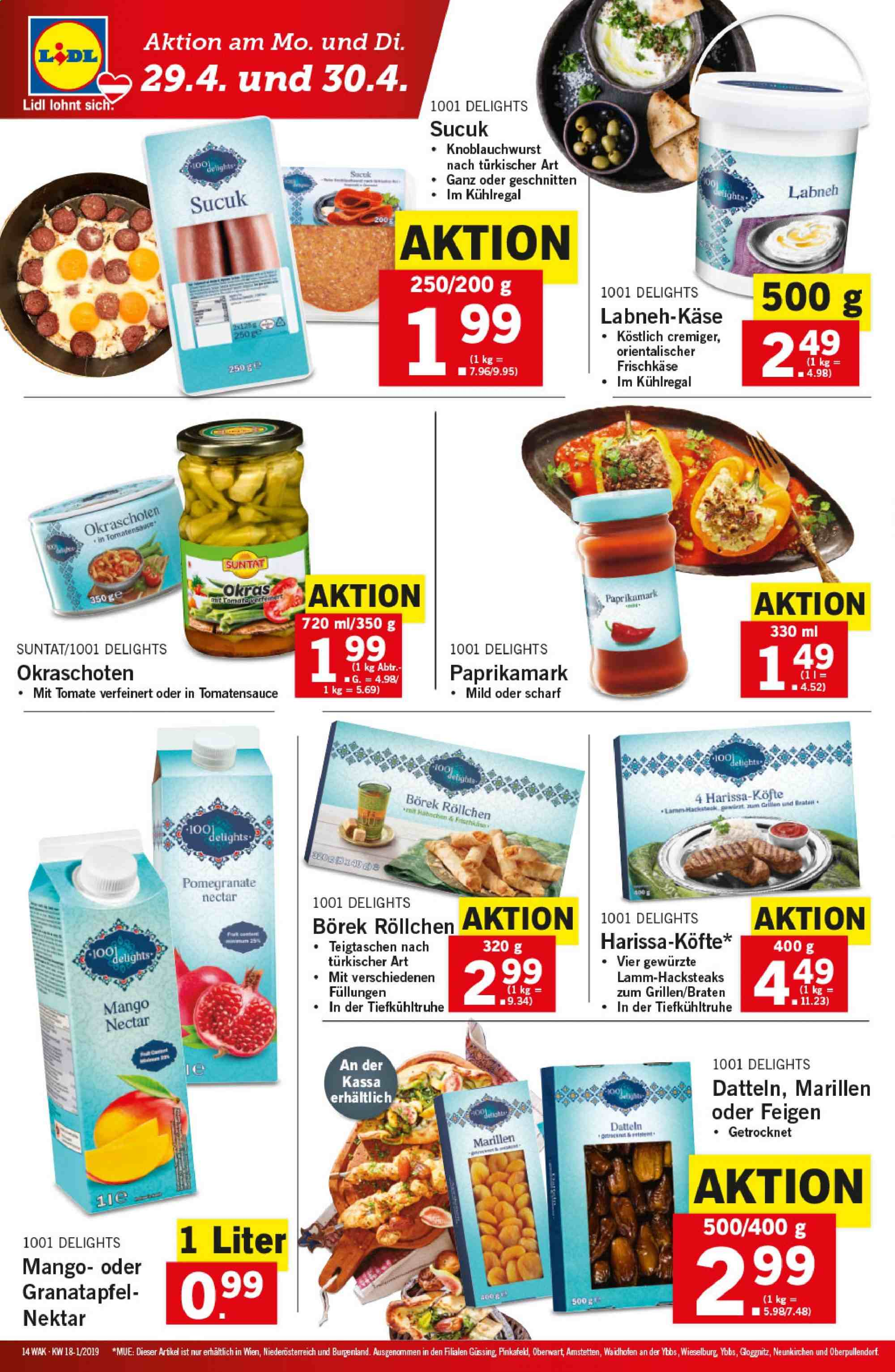 Angebote Lidl - 25.4.2019 - 30.4.2019. Seite 14.
