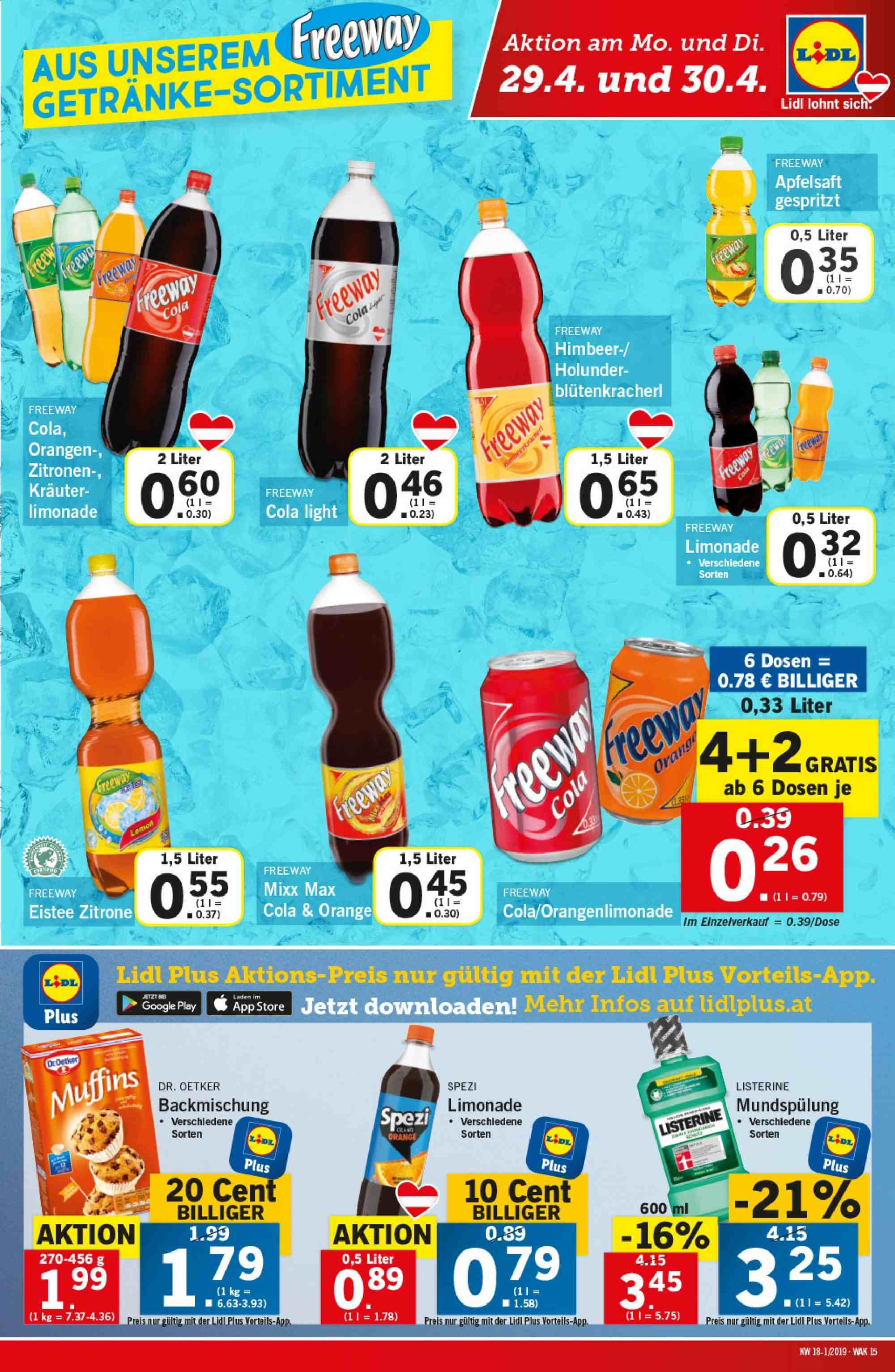 Angebote Lidl - 25.4.2019 - 30.4.2019. Seite 15.