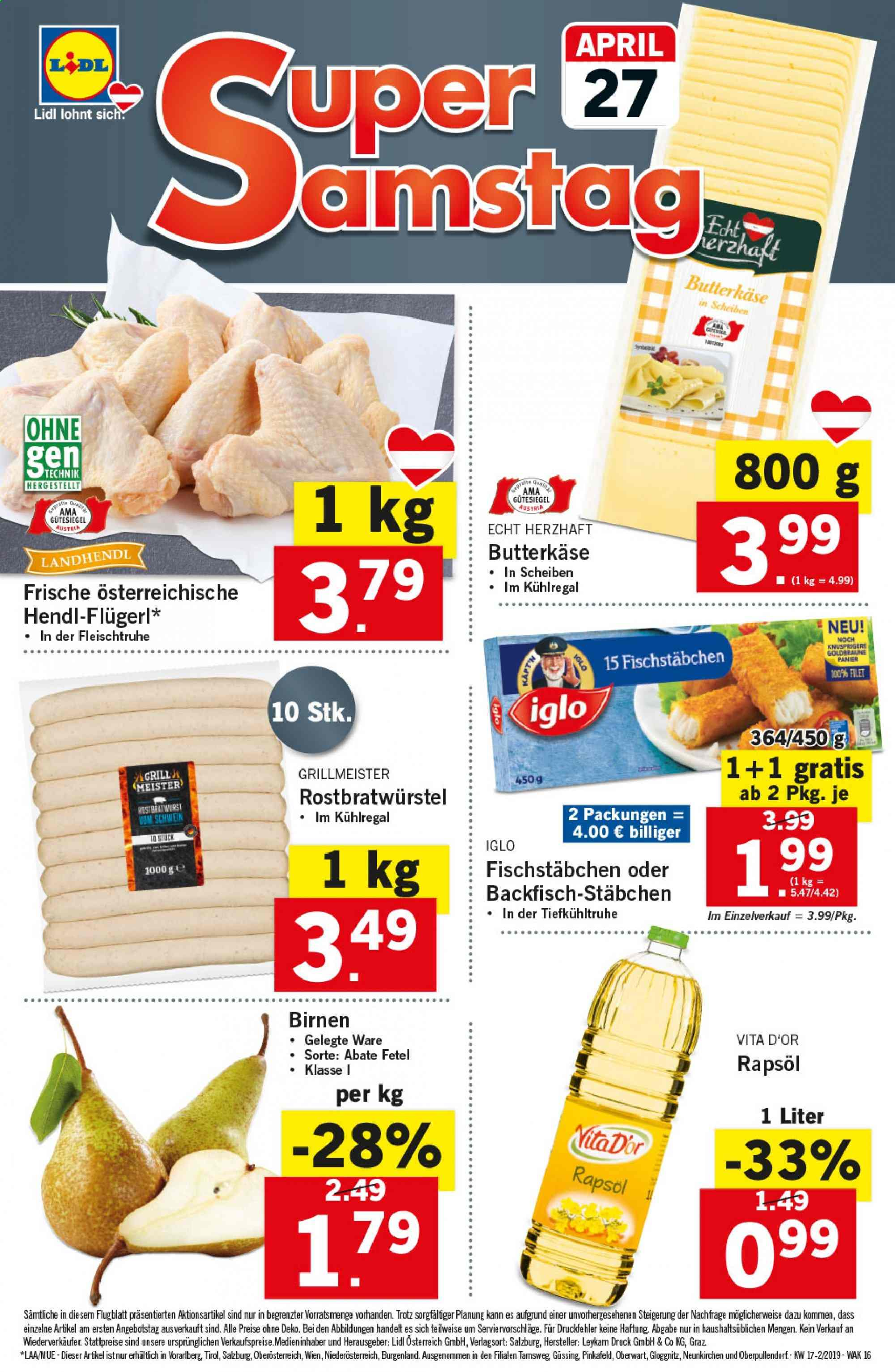Angebote Lidl - 25.4.2019 - 30.4.2019. Seite 16.