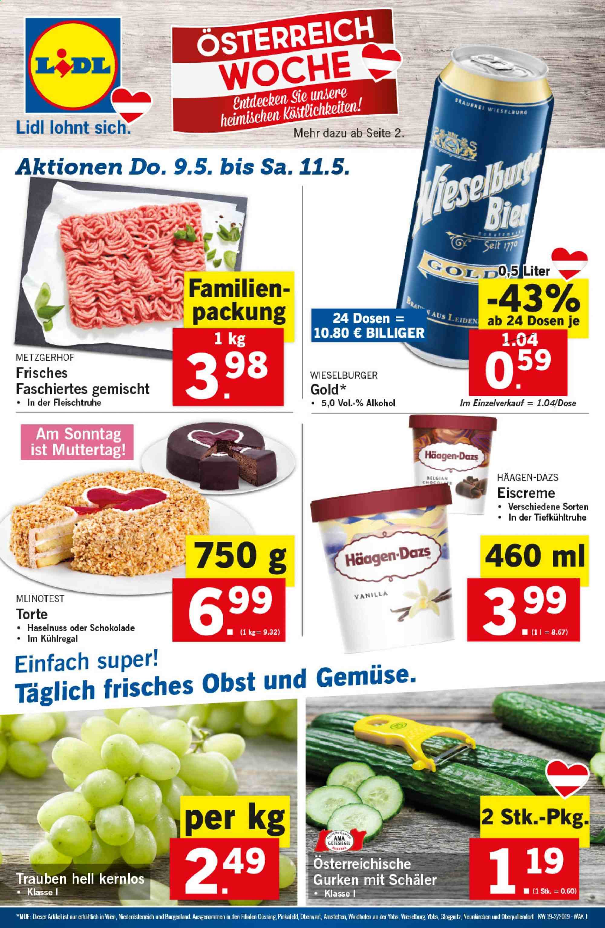 Angebote Lidl - 9.5.2019 - 15.5.2019. Seite 1.