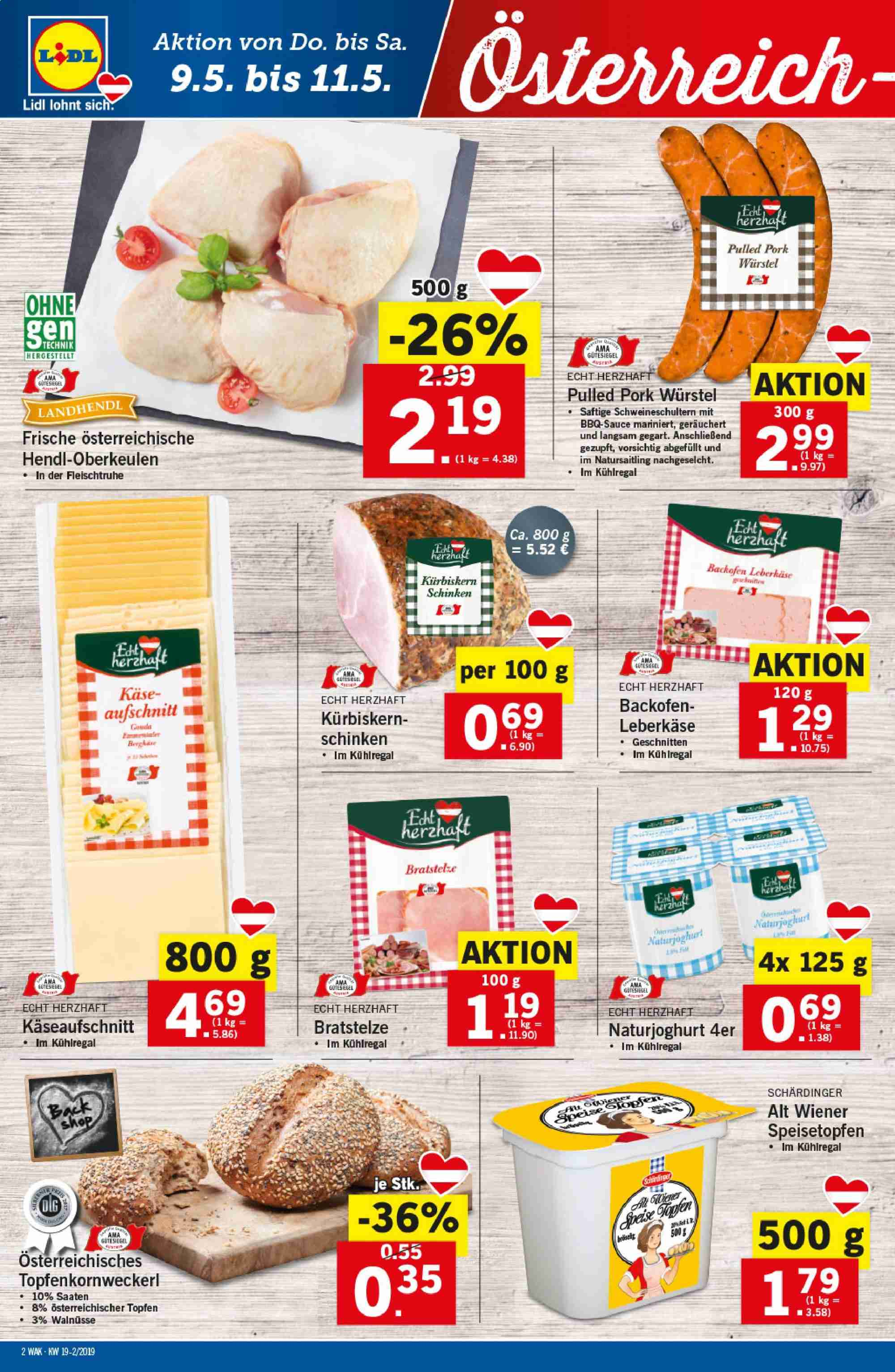 Angebote Lidl - 9.5.2019 - 15.5.2019. Seite 2.