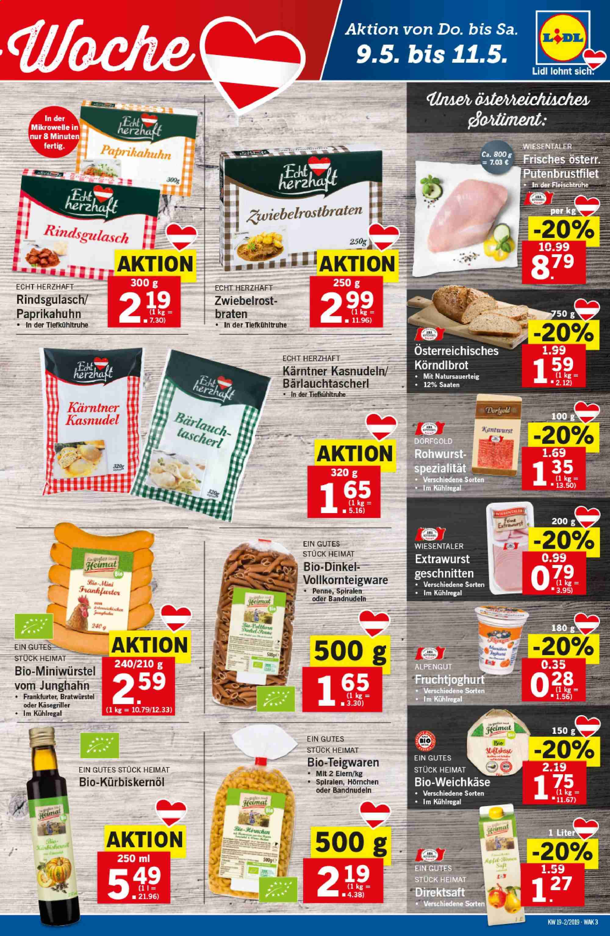 Angebote Lidl - 9.5.2019 - 15.5.2019. Seite 3.