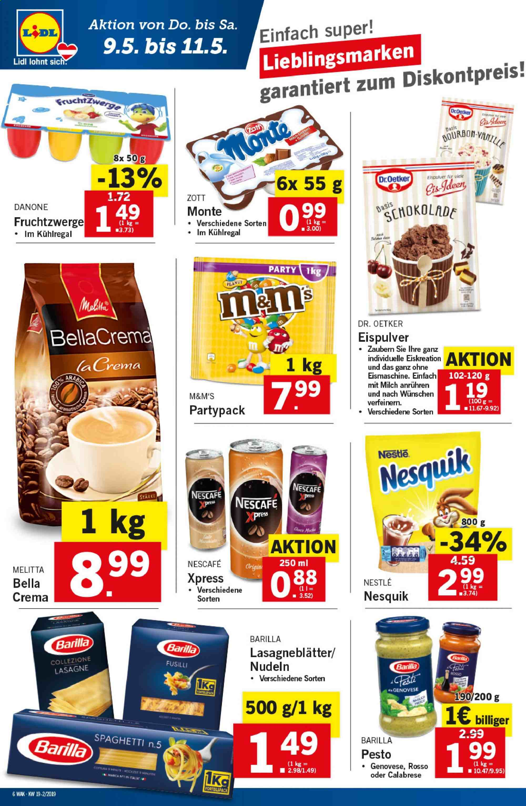 Angebote Lidl - 9.5.2019 - 15.5.2019. Seite 6.