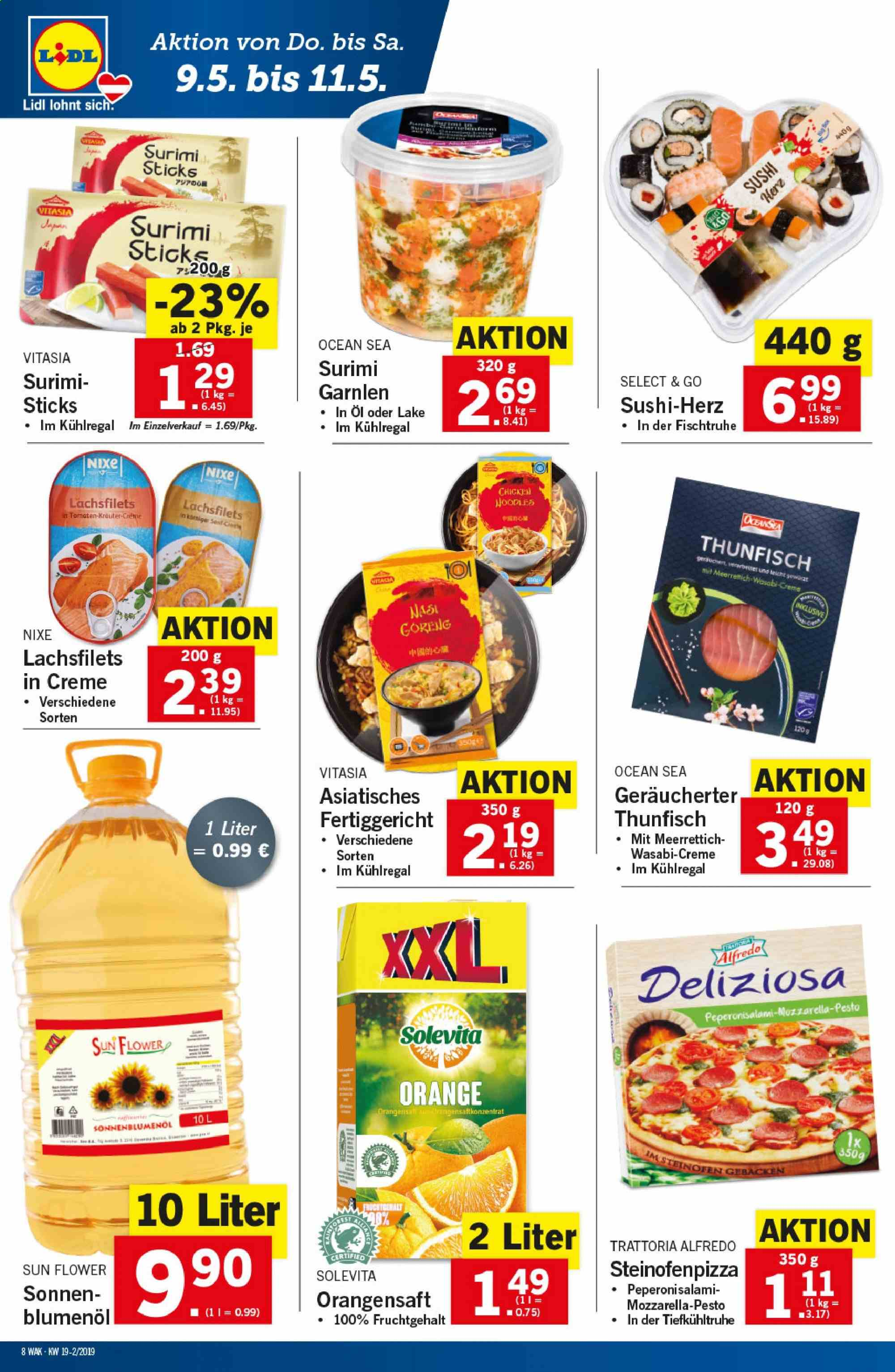 Angebote Lidl - 9.5.2019 - 15.5.2019. Seite 8.