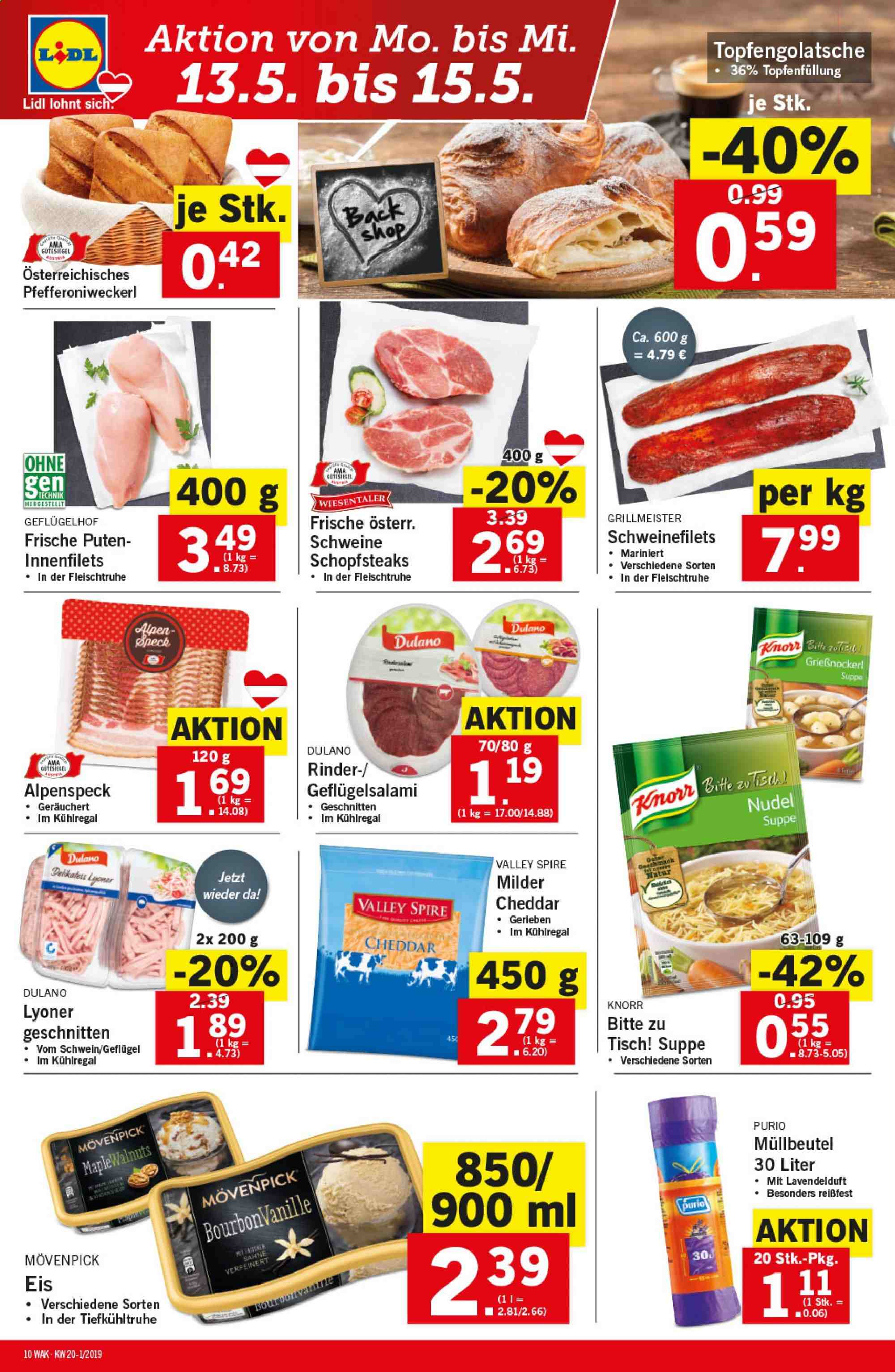 Angebote Lidl - 9.5.2019 - 15.5.2019. Seite 10.