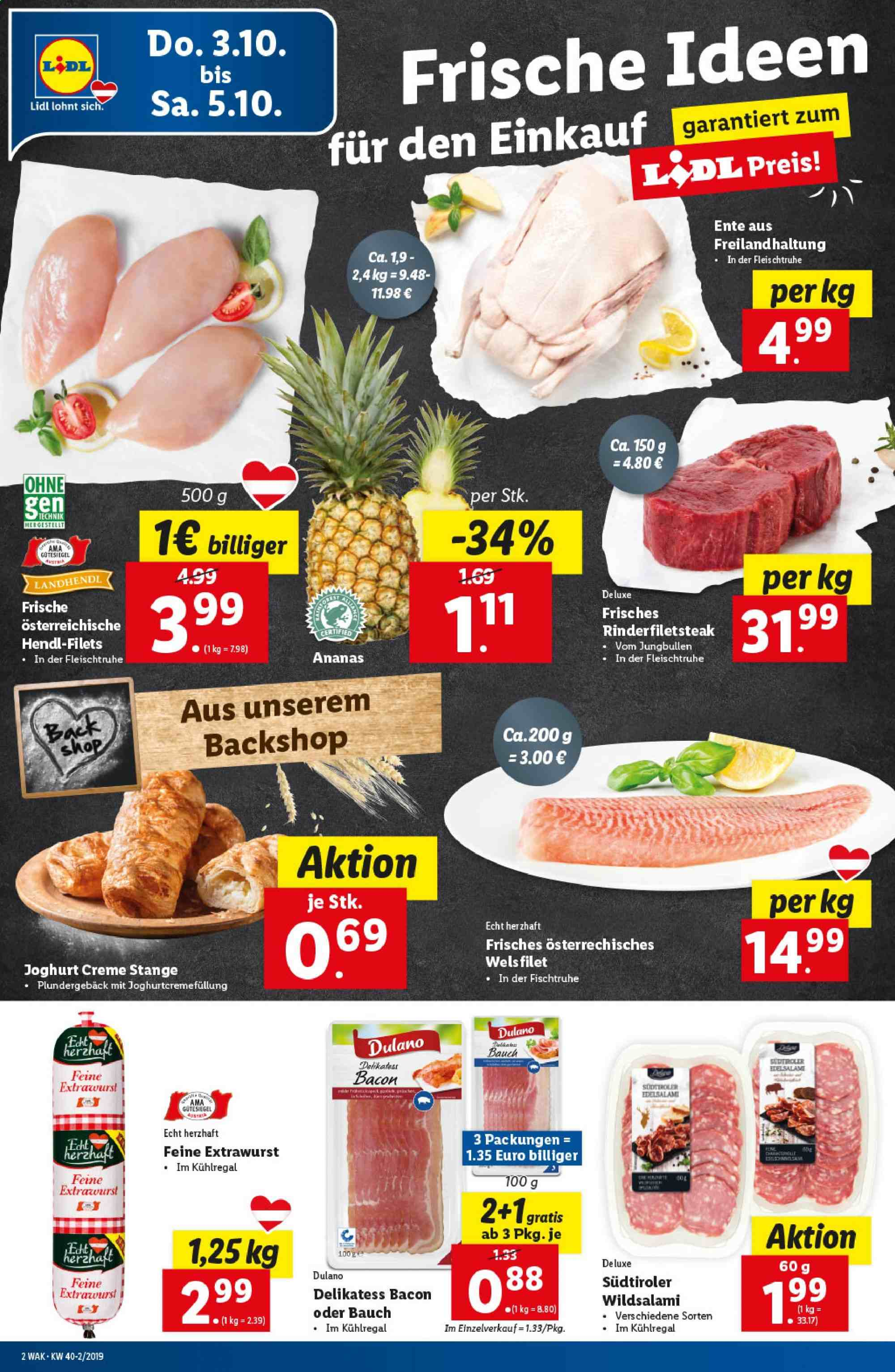 Angebote Lidl - 3.10.2019 - 9.10.2019. Seite 2.