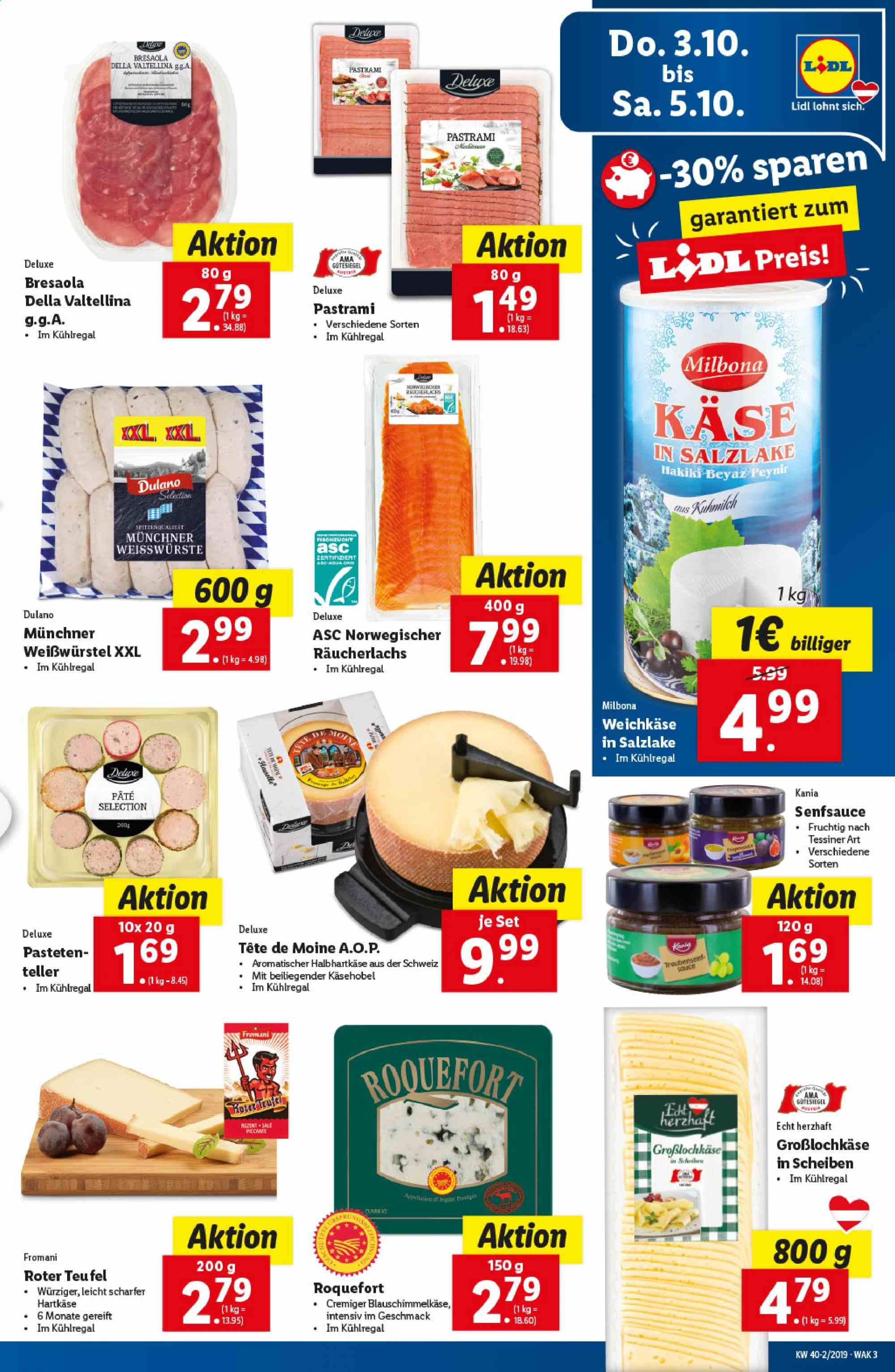 Angebote Lidl - 3.10.2019 - 9.10.2019. Seite 3.