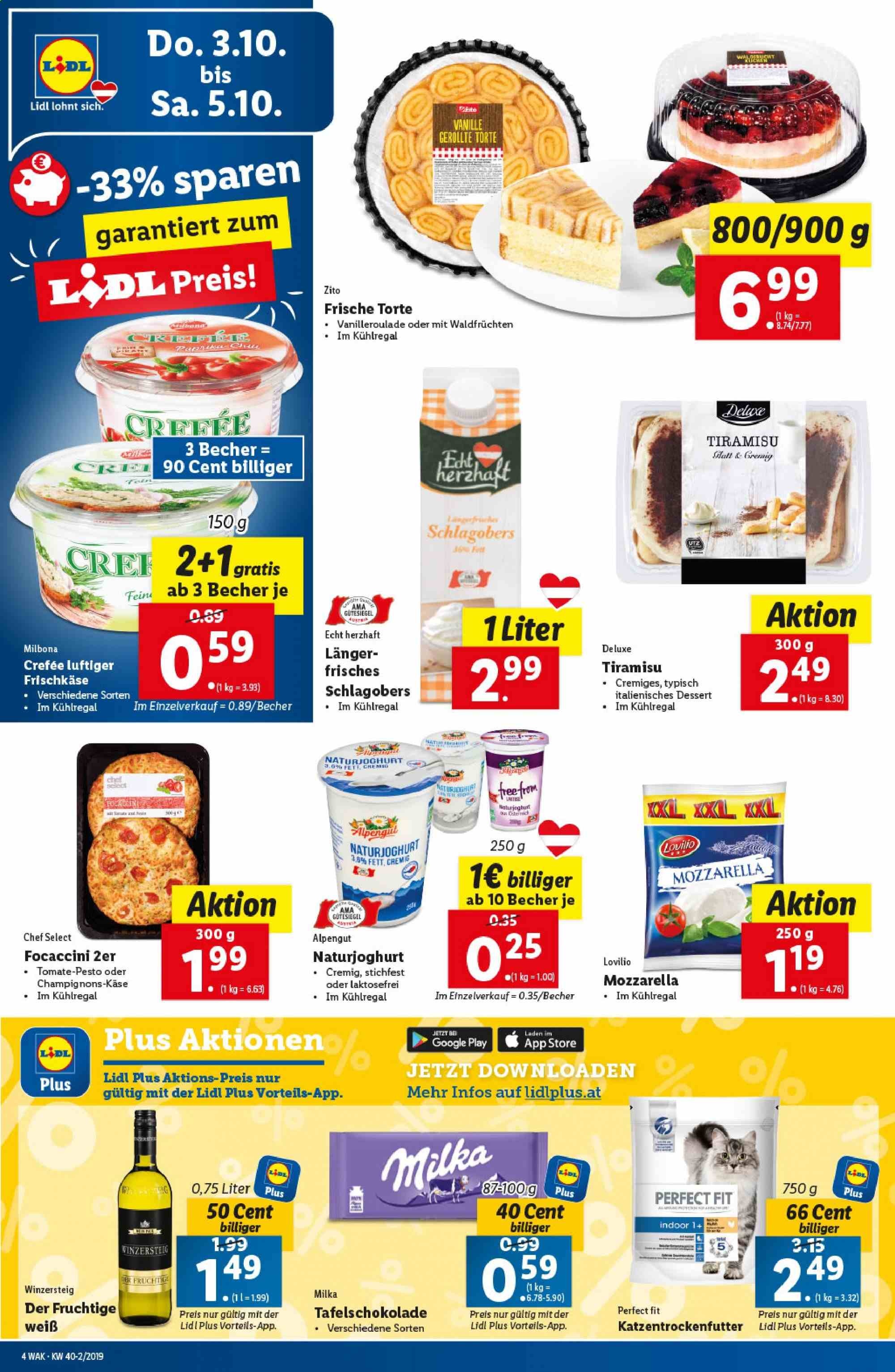 Angebote Lidl - 3.10.2019 - 9.10.2019. Seite 4.