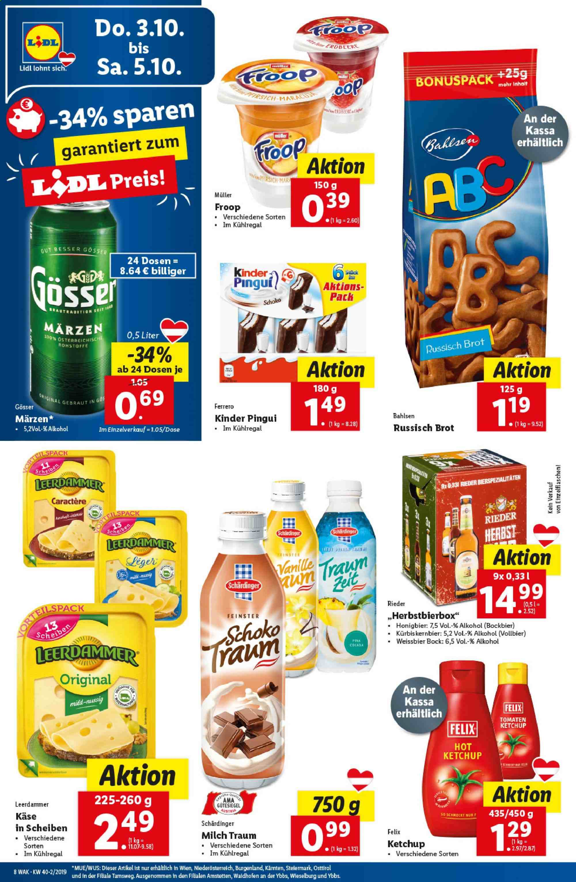 Angebote Lidl - 3.10.2019 - 9.10.2019. Seite 8.