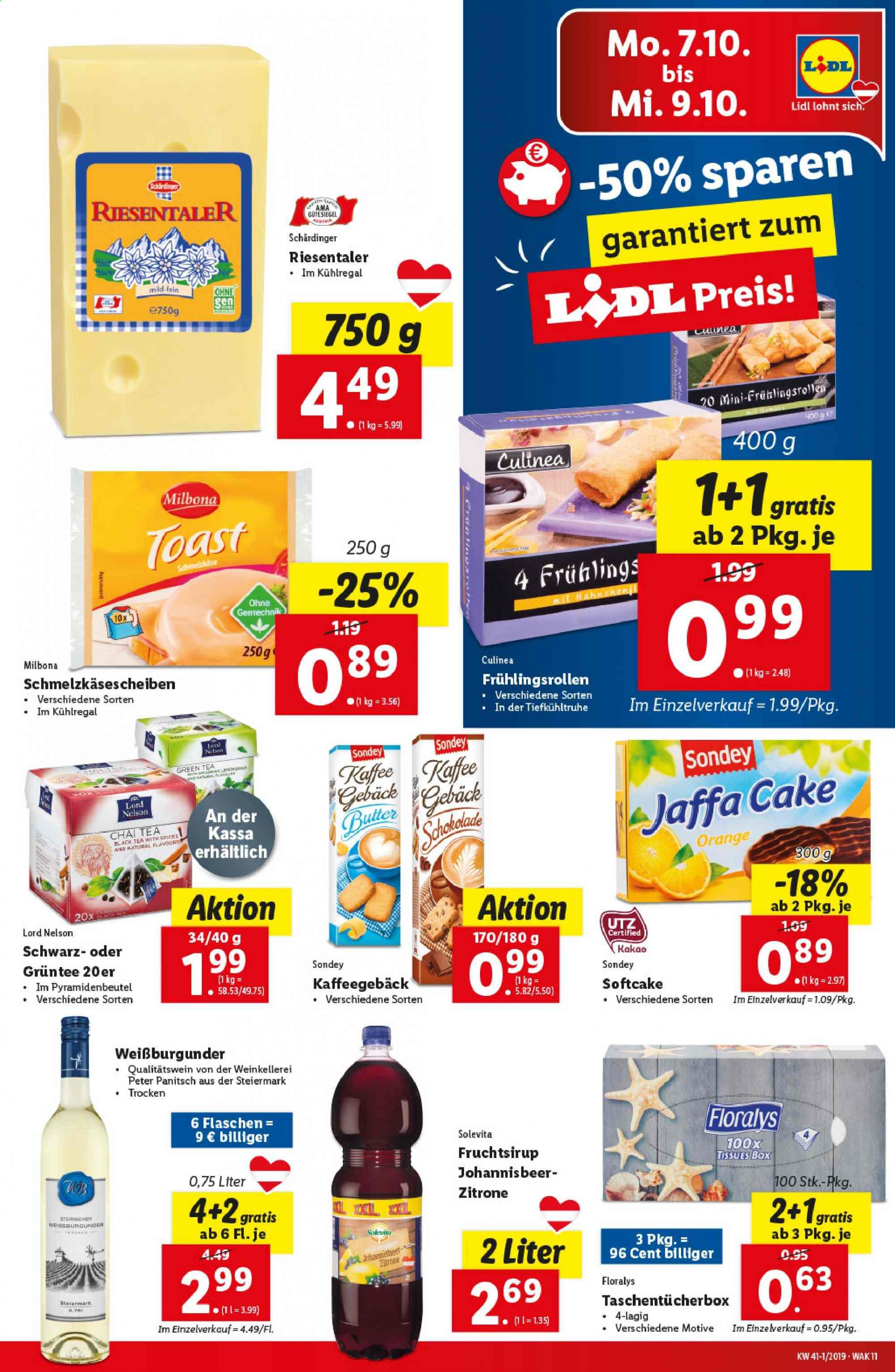 Angebote Lidl - 3.10.2019 - 9.10.2019. Seite 11.