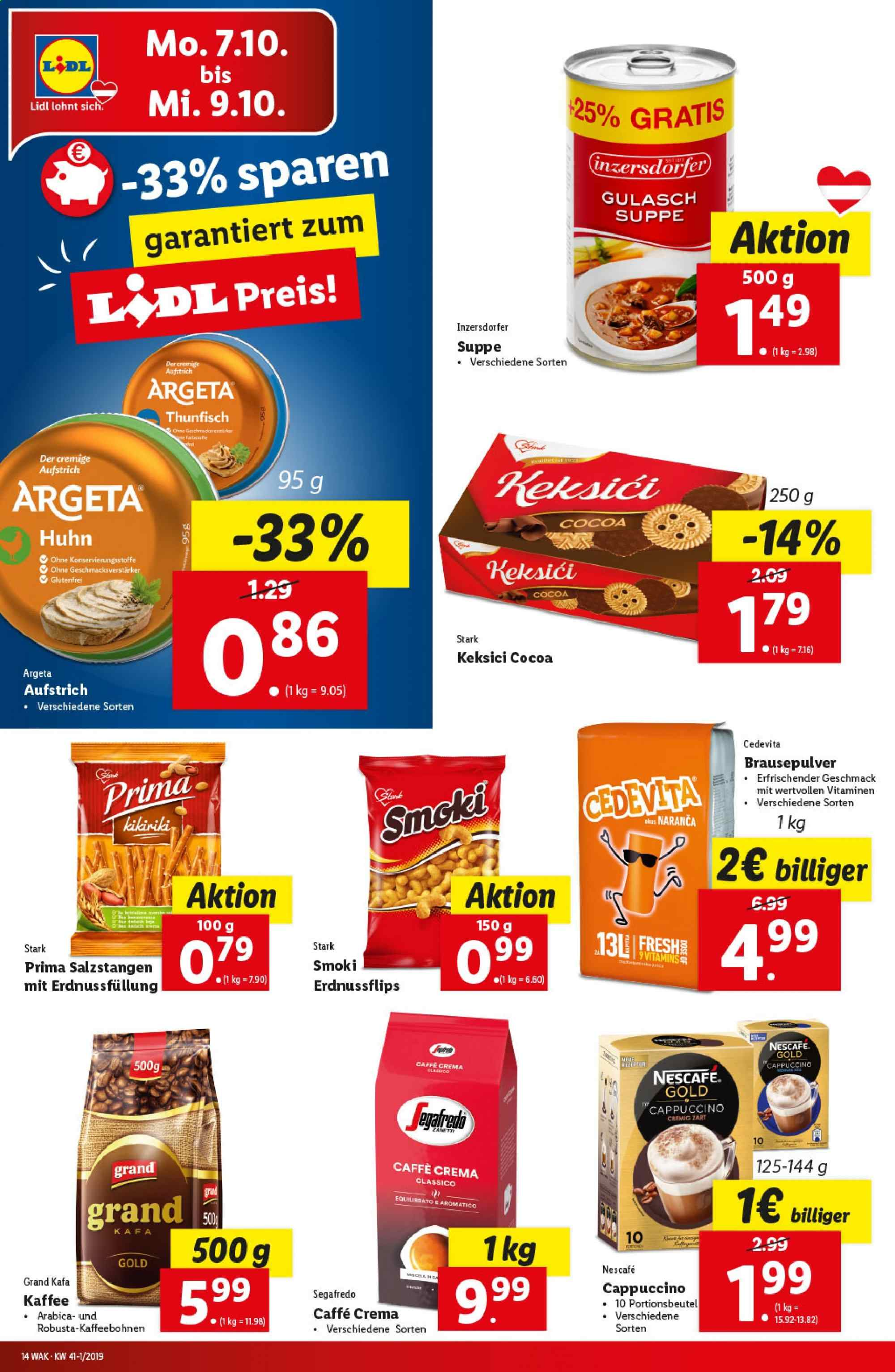 Angebote Lidl - 3.10.2019 - 9.10.2019. Seite 14.