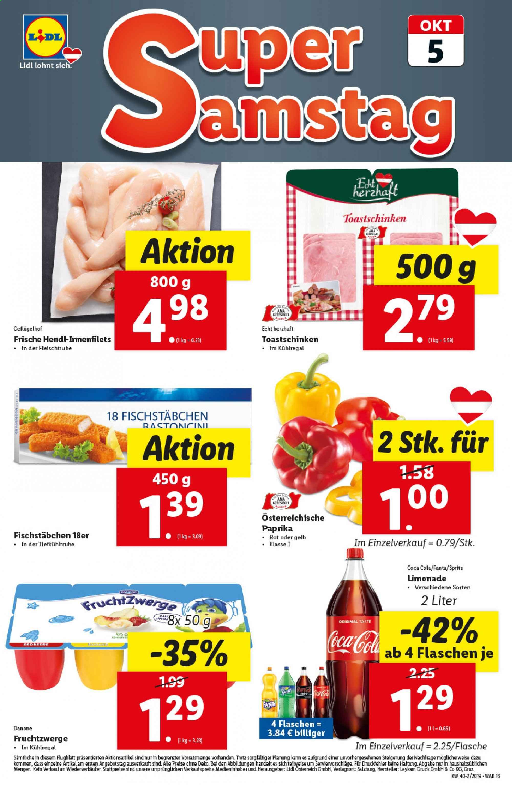 Angebote Lidl - 3.10.2019 - 9.10.2019. Seite 16.