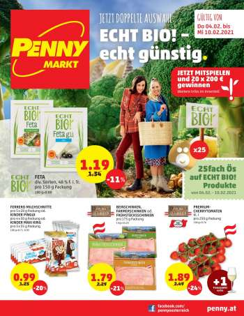 Angebote Penny - 4.2.2021 - 10.2.2021.