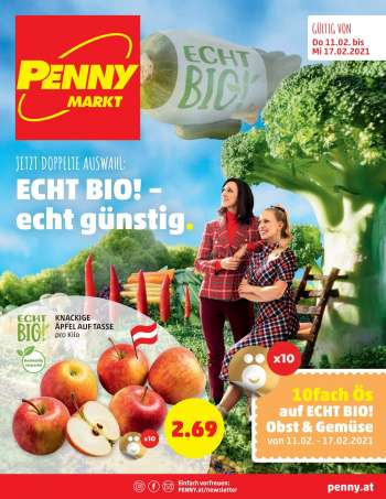 Angebote Penny - 11.2.2021 - 17.2.2021.