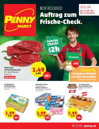 Angebote Penny - 11.3.2021 - 17.3.2021.