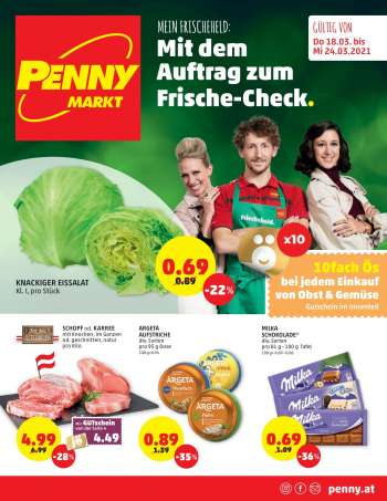 Angebote Penny - 18.3.2021 - 24.3.2021.