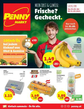 Angebote Penny - 25.3.2021 - 31.3.2021.