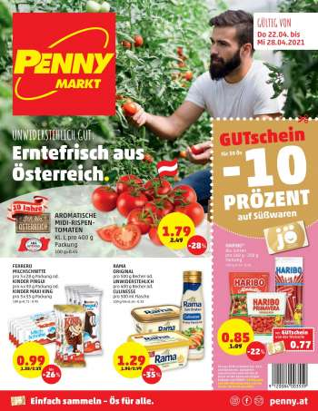 Angebote Penny - 22.4.2021 - 28.4.2021.