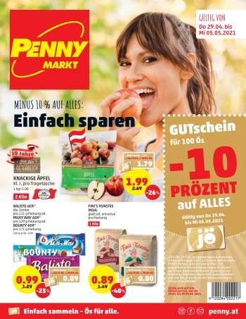 Angebote Penny - 29.4.2021 - 5.5.2021.