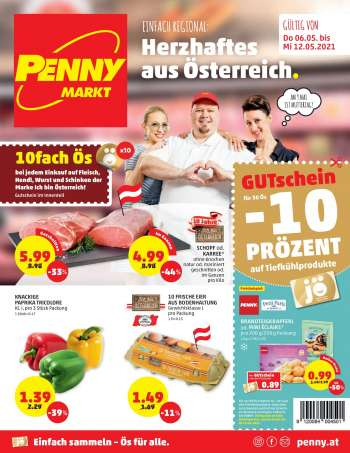 Angebote Penny - 6.5.2021 - 12.5.2021.