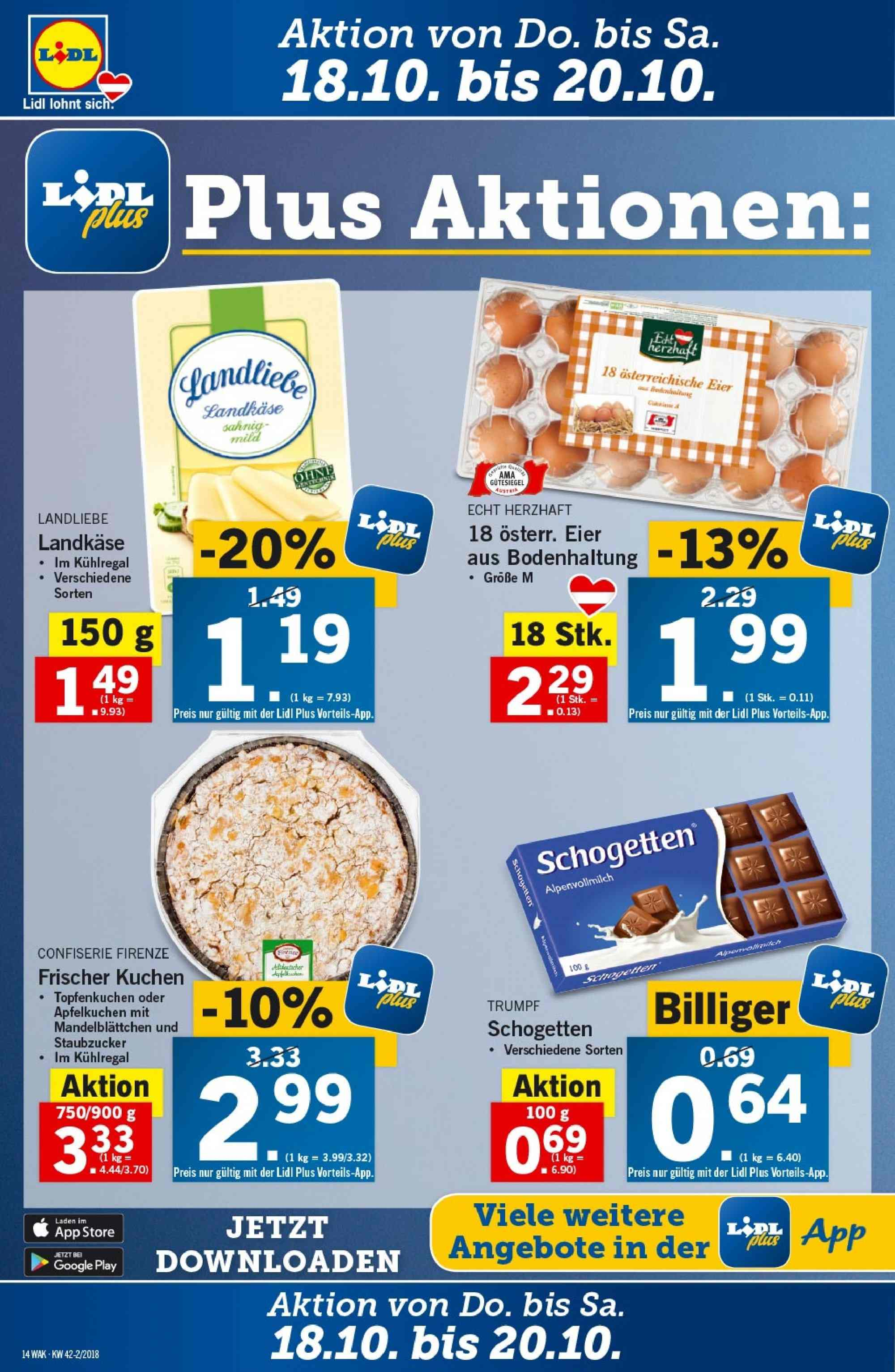 Angebote Lidl - 18.10.2018 - 24.10.2018. Seite 14.
