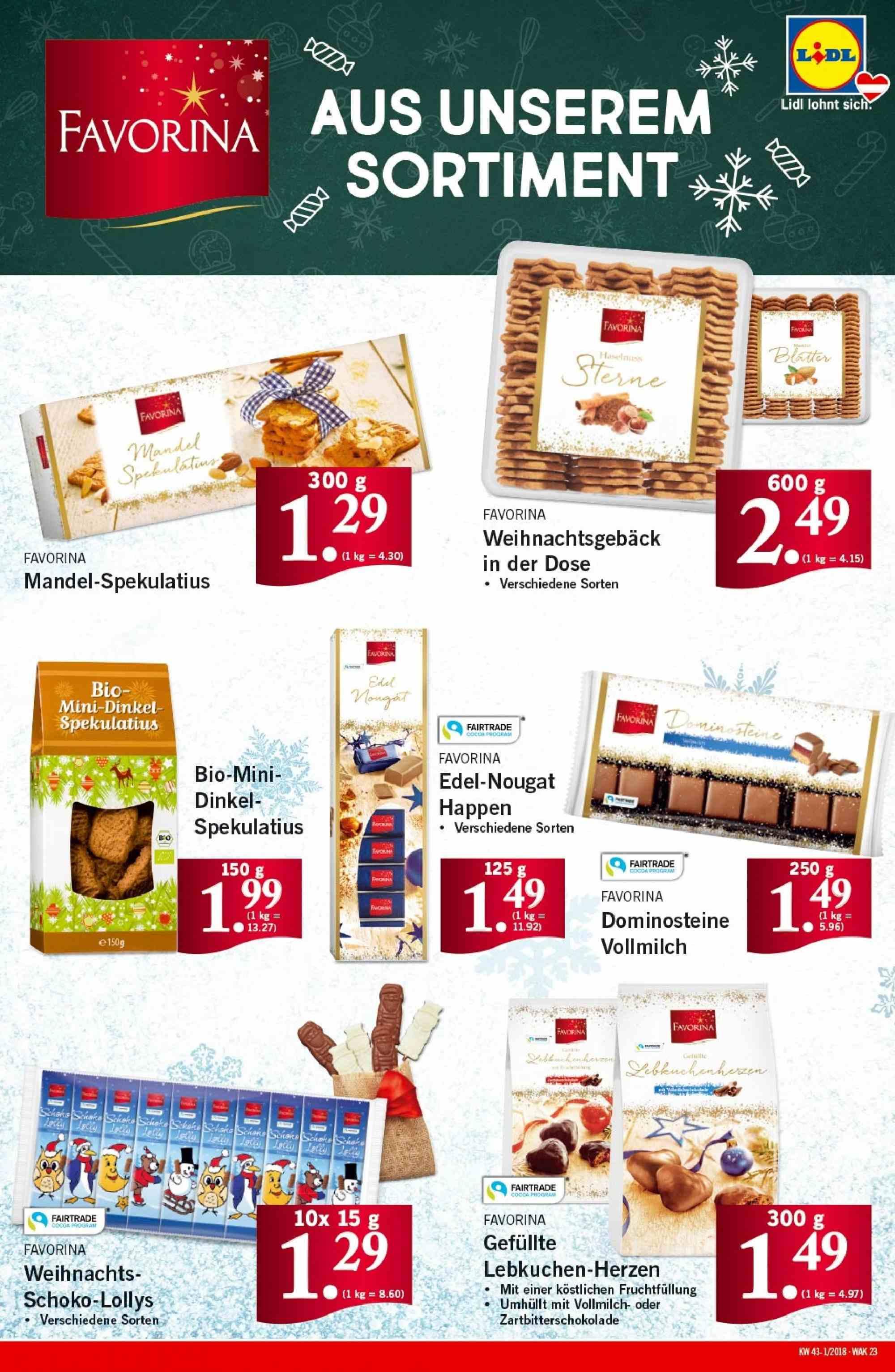 Angebote Lidl - 18.10.2018 - 24.10.2018. Seite 23.