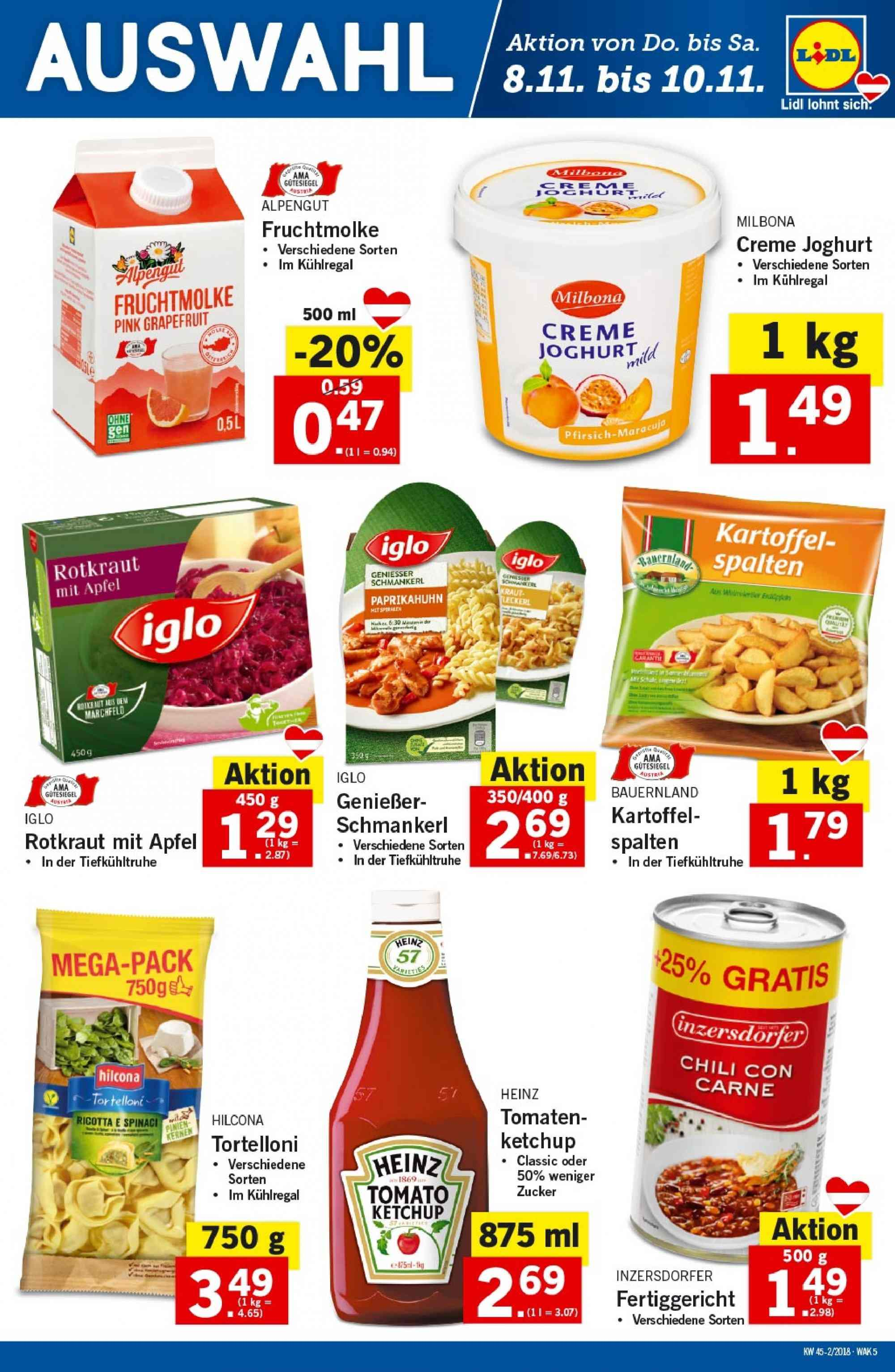 Angebote Lidl - 8.11.2018 - 14.11.2018. Seite 5.