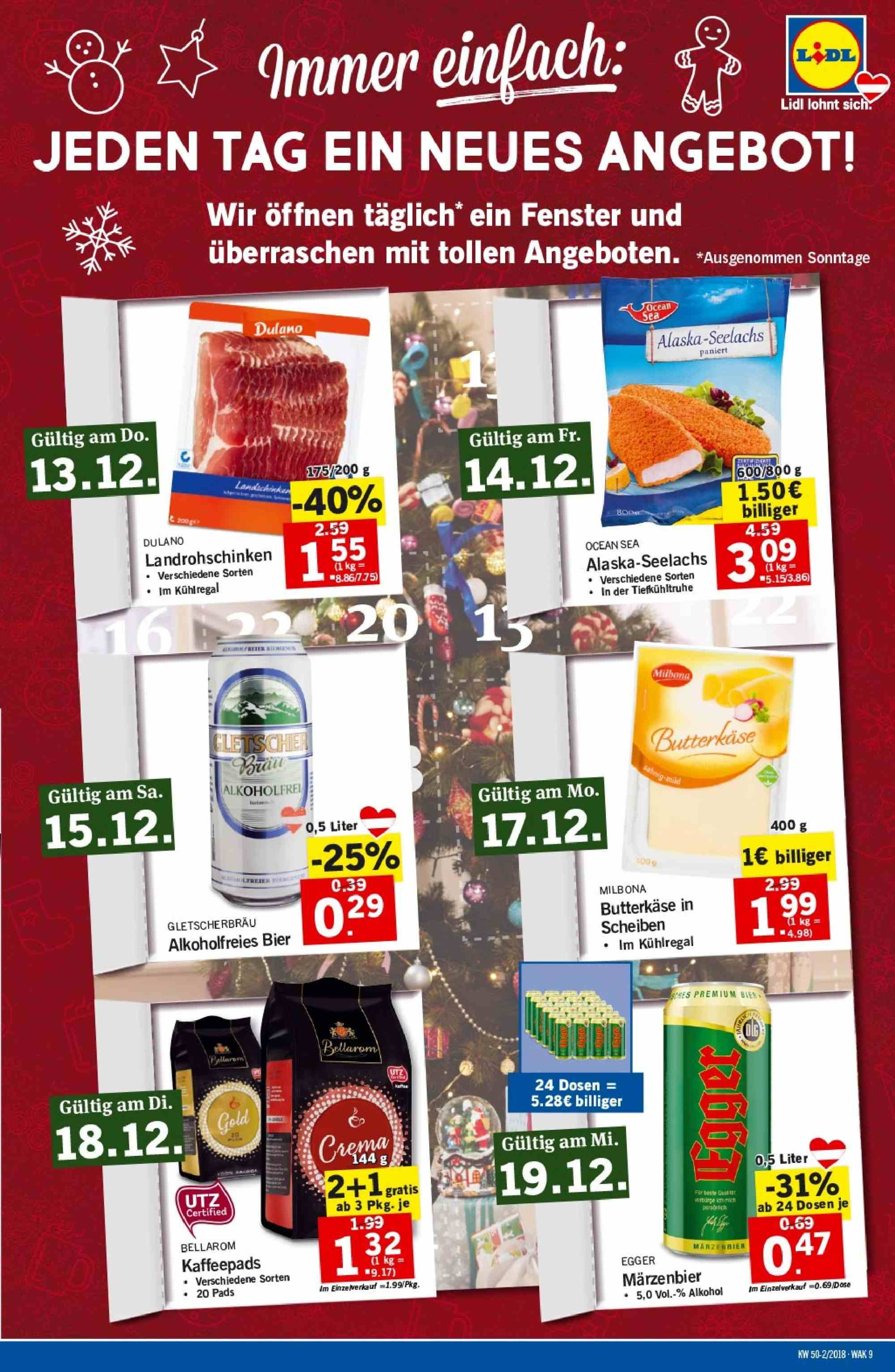 Angebote Lidl - 13.12.2018 - 19.12.2018. Seite 9.