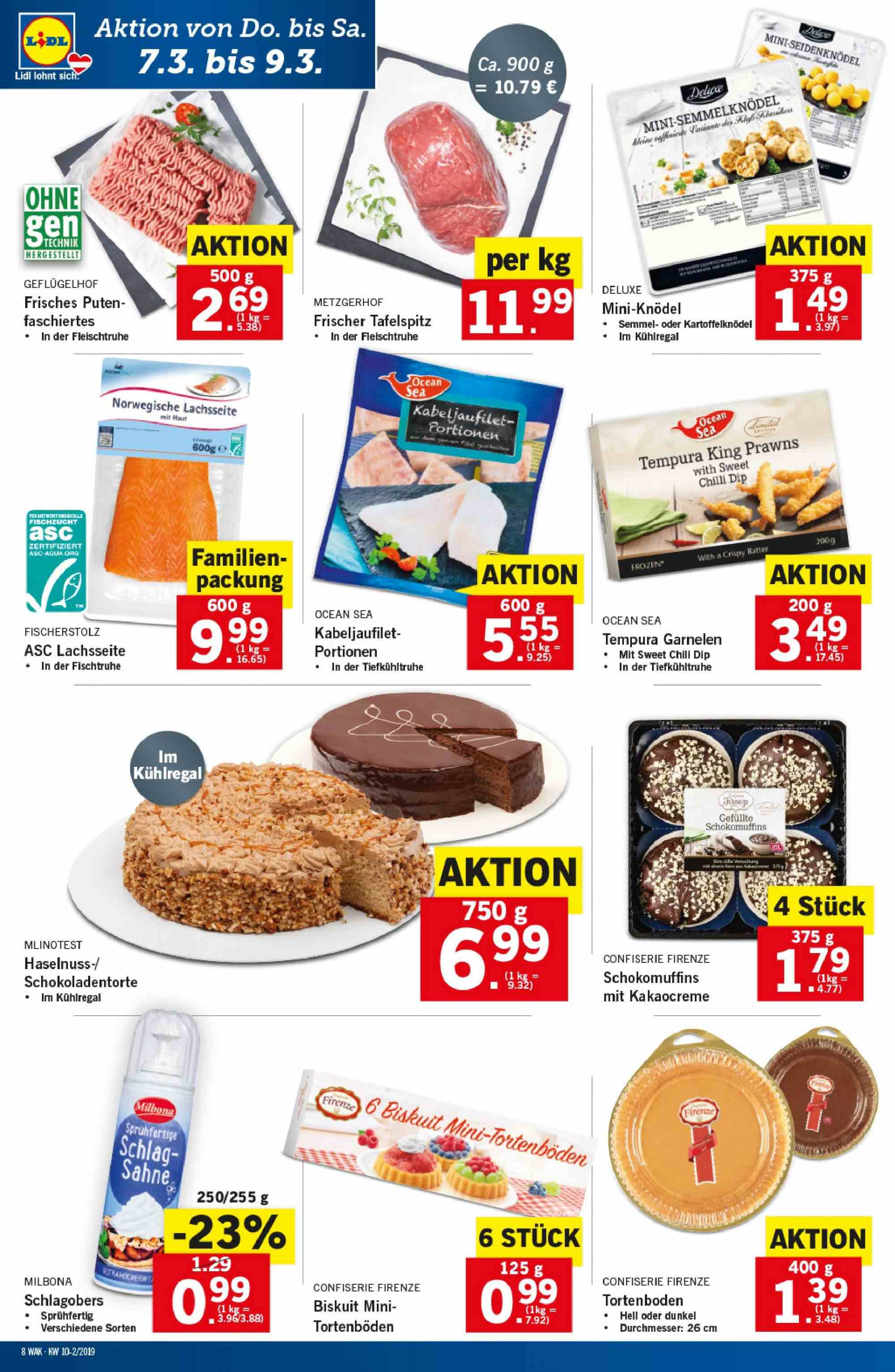 Angebote Lidl - 7.3.2019 - 13.3.2019. Seite 8.