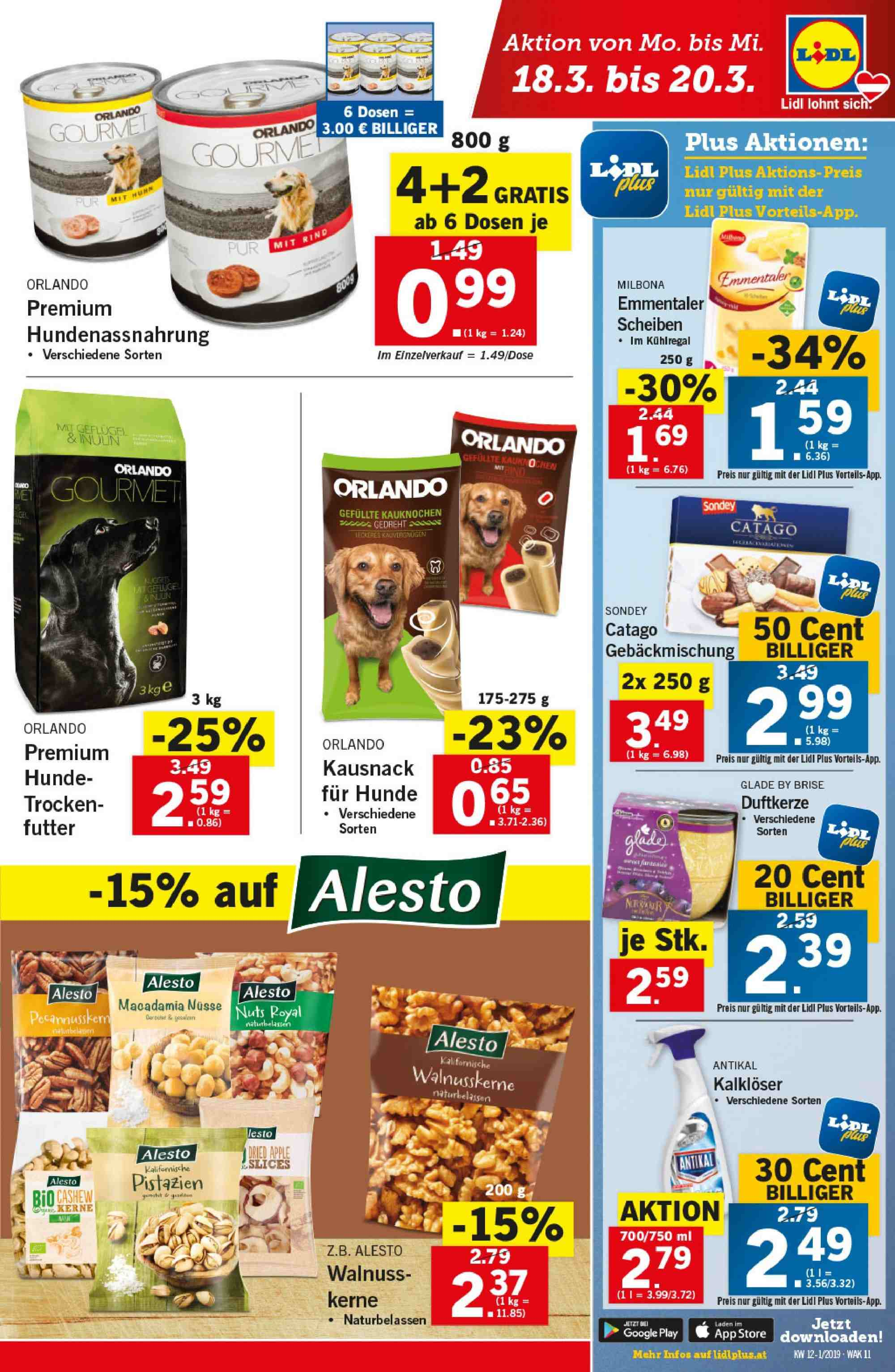 Angebote Lidl - 14.3.2019 - 20.3.2019. Seite 11.