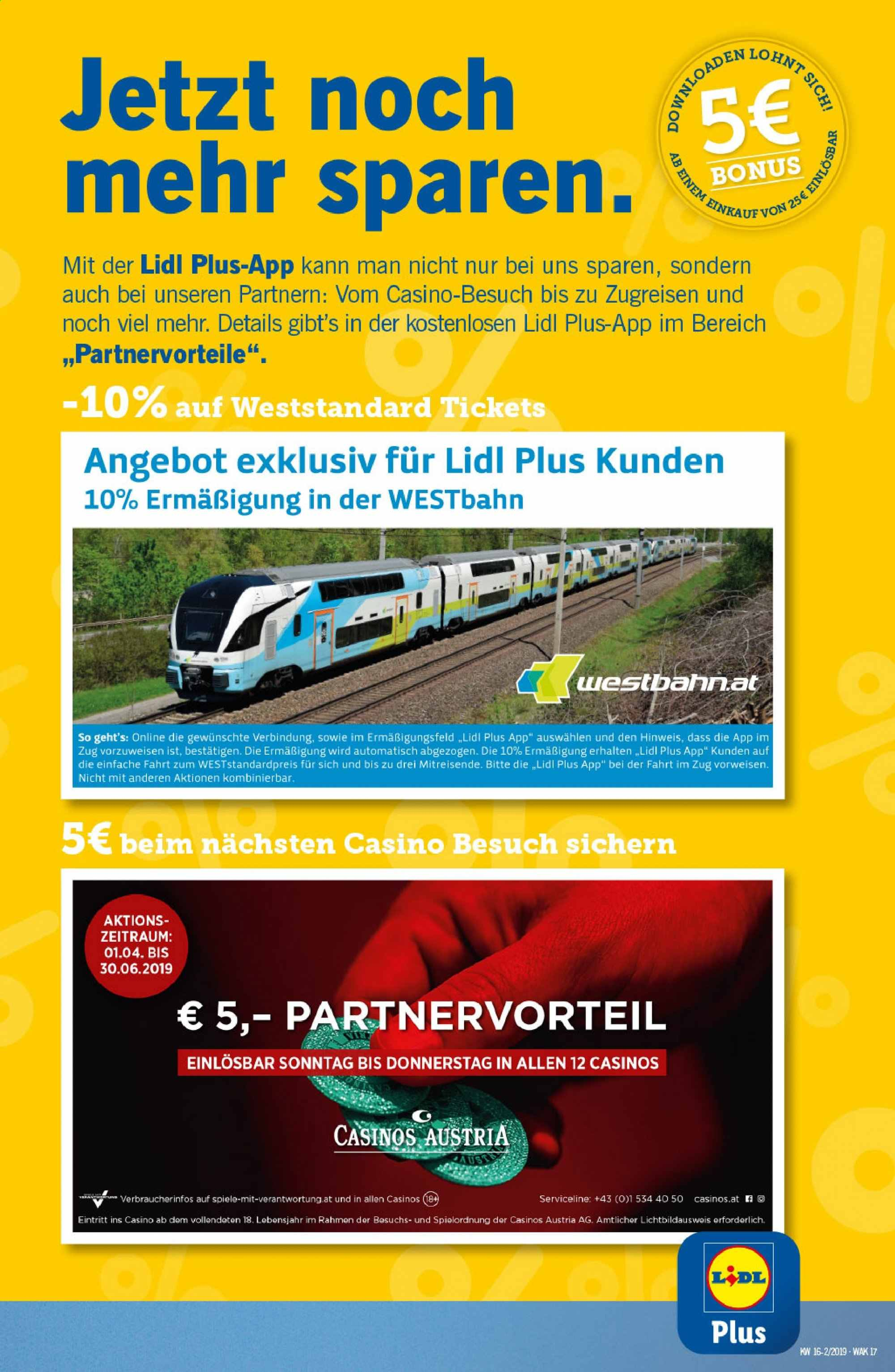Angebote Lidl - 18.4.2019 - 24.4.2019. Seite 17.