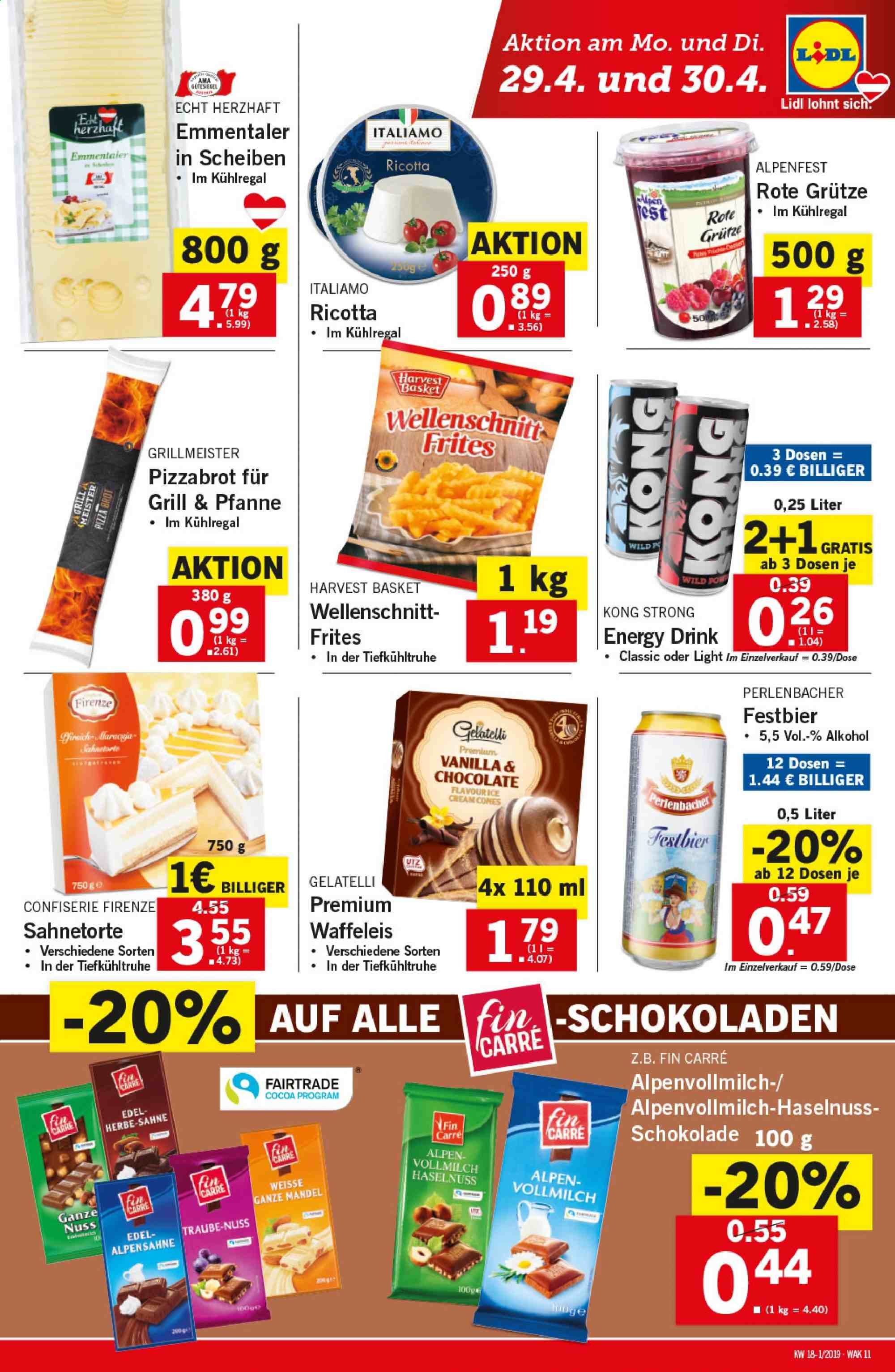 Angebote Lidl - 25.4.2019 - 30.4.2019. Seite 11.
