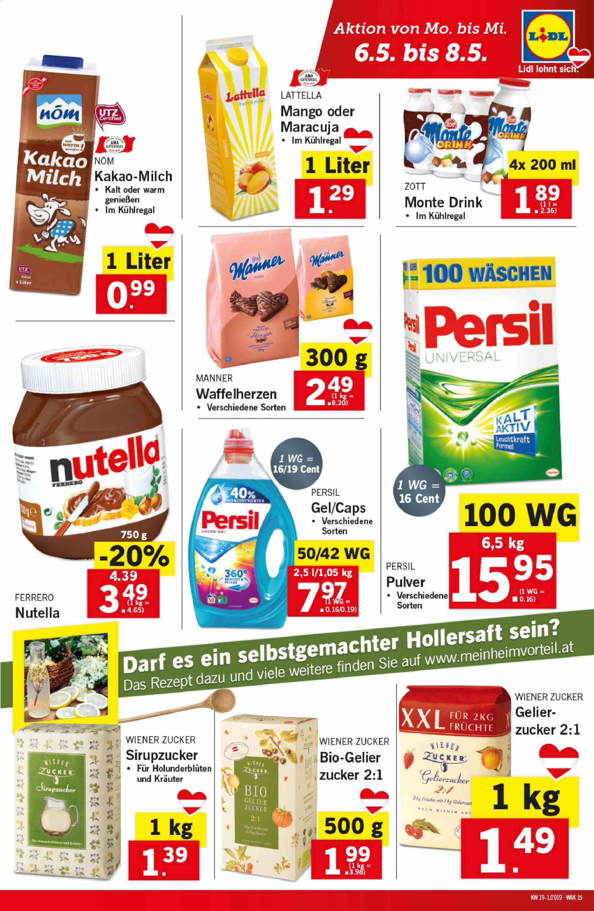 Angebote Lidl - 2.5.2019 - 8.5.2019. Seite 15.