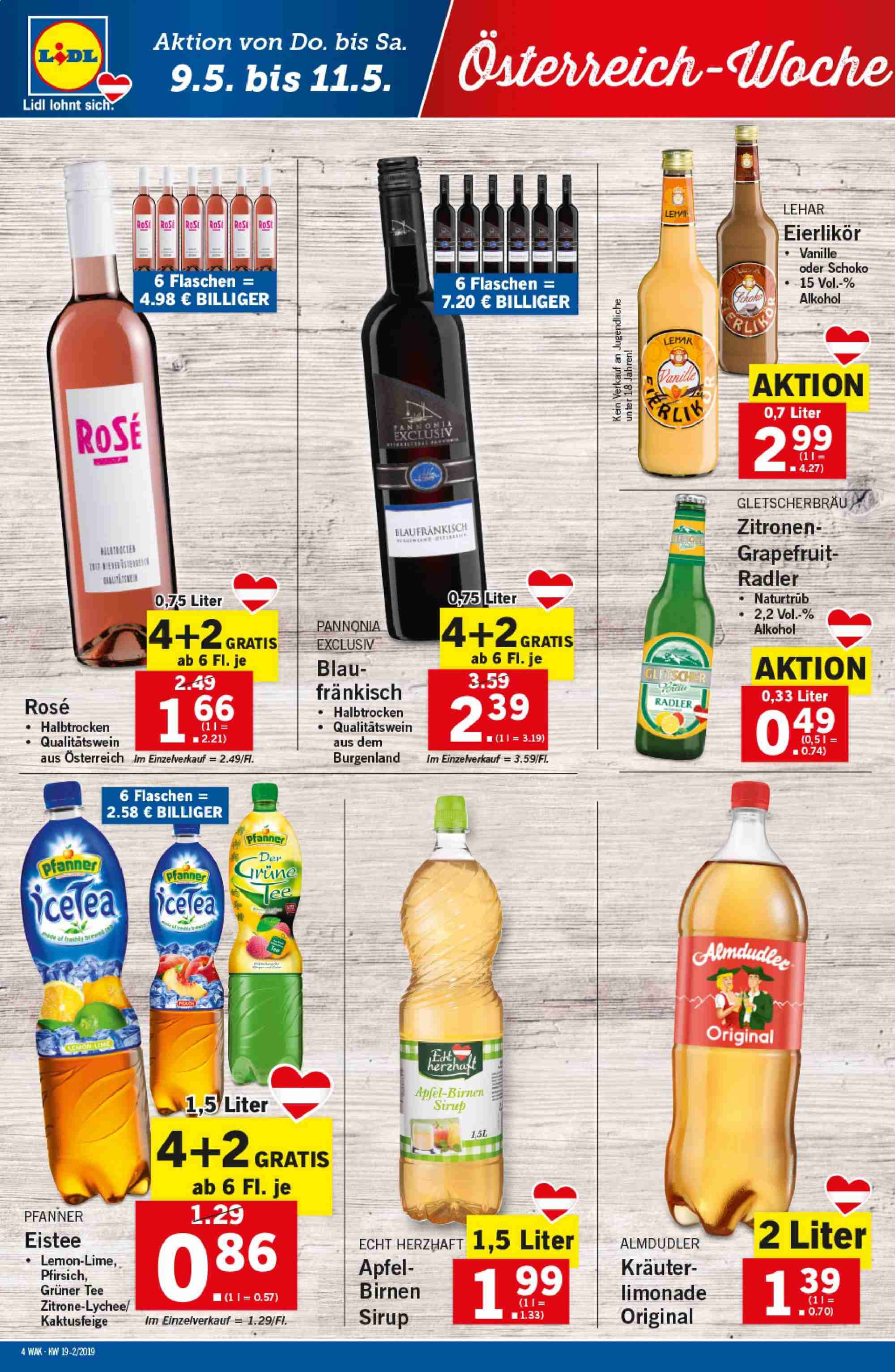Angebote Lidl - 9.5.2019 - 15.5.2019. Seite 4.