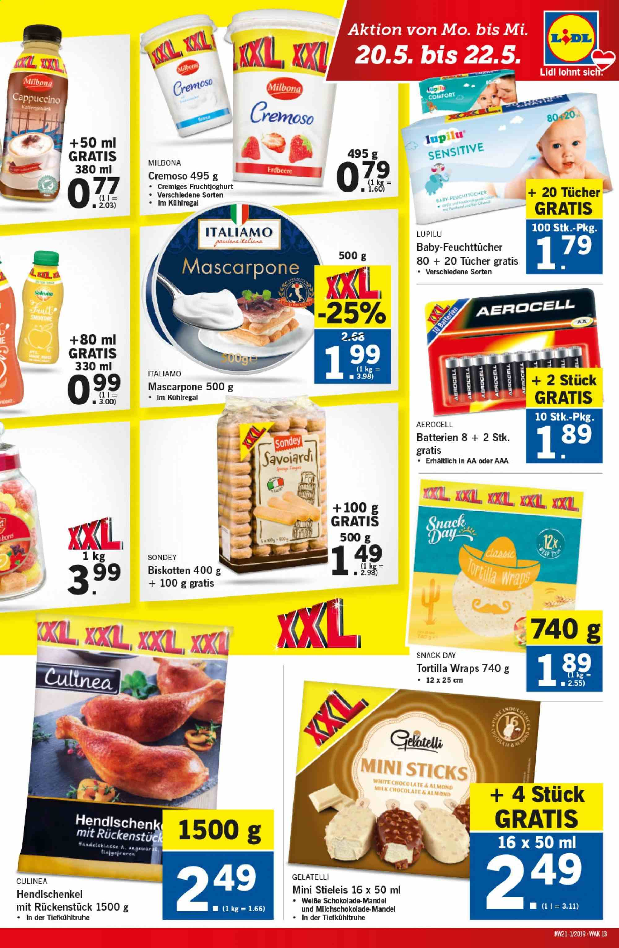 Angebote Lidl - 16.5.2019 - 22.5.2019. Seite 13.