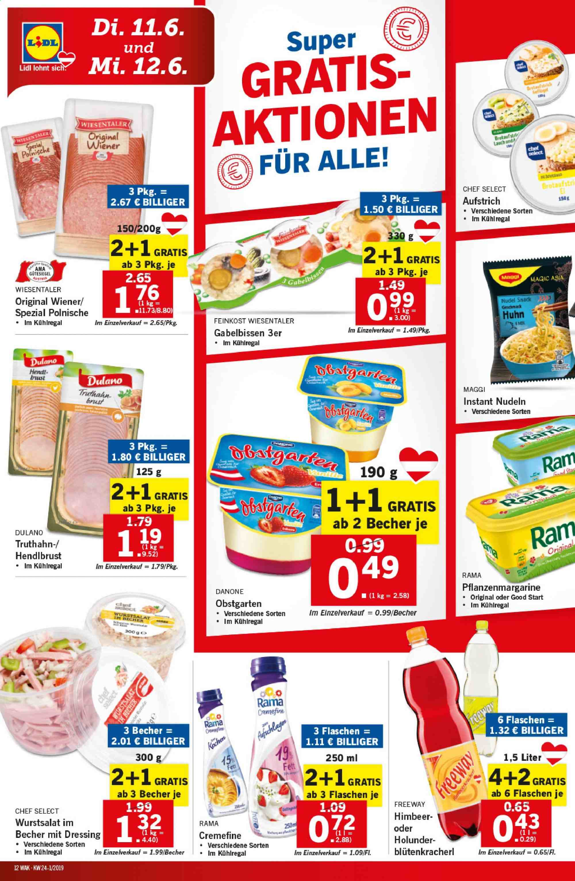 Angebote Lidl - 6.6.2019 - 12.6.2019. Seite 12.