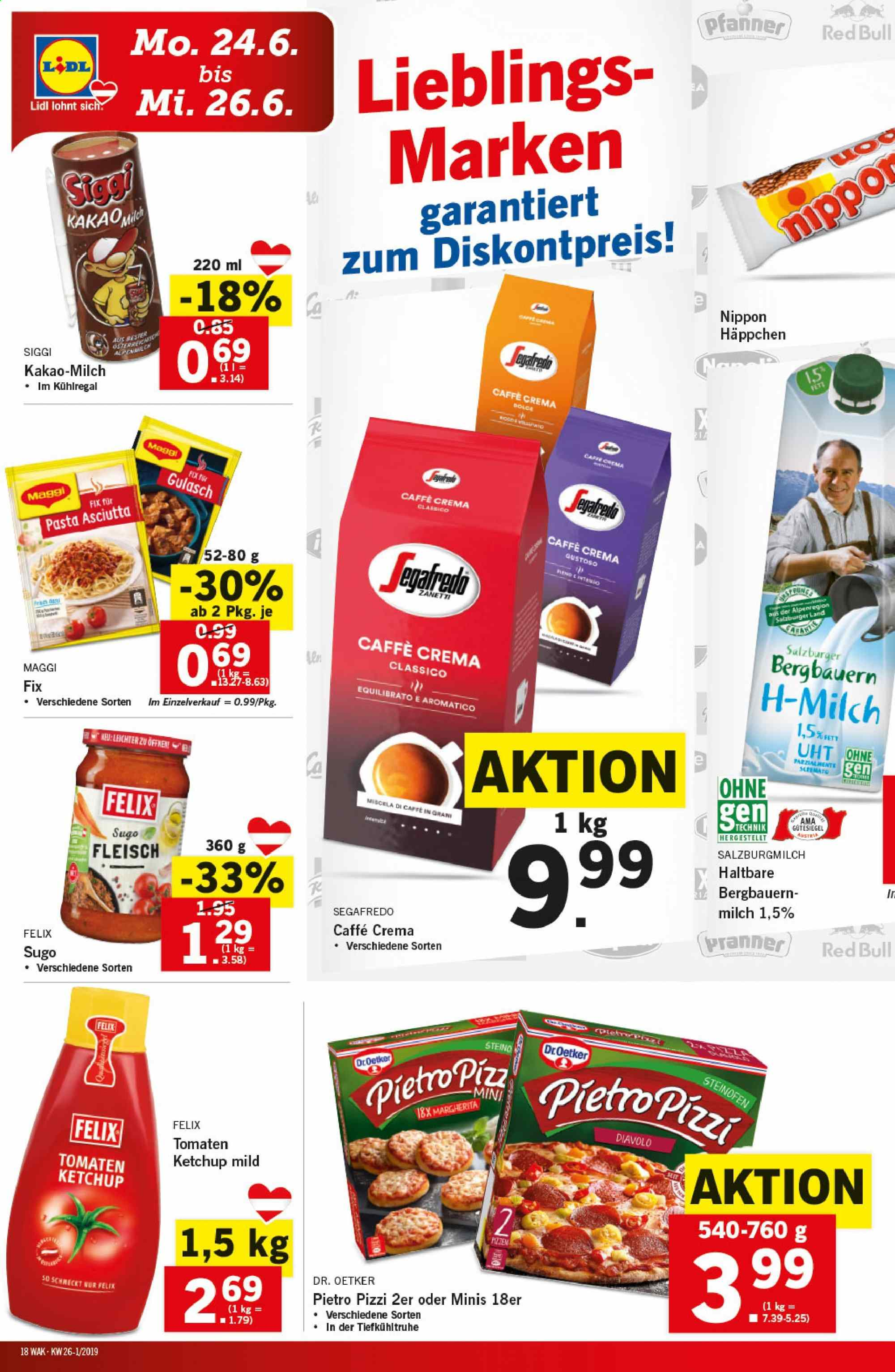 Angebote Lidl - 19.6.2019 - 26.6.2019. Seite 18.