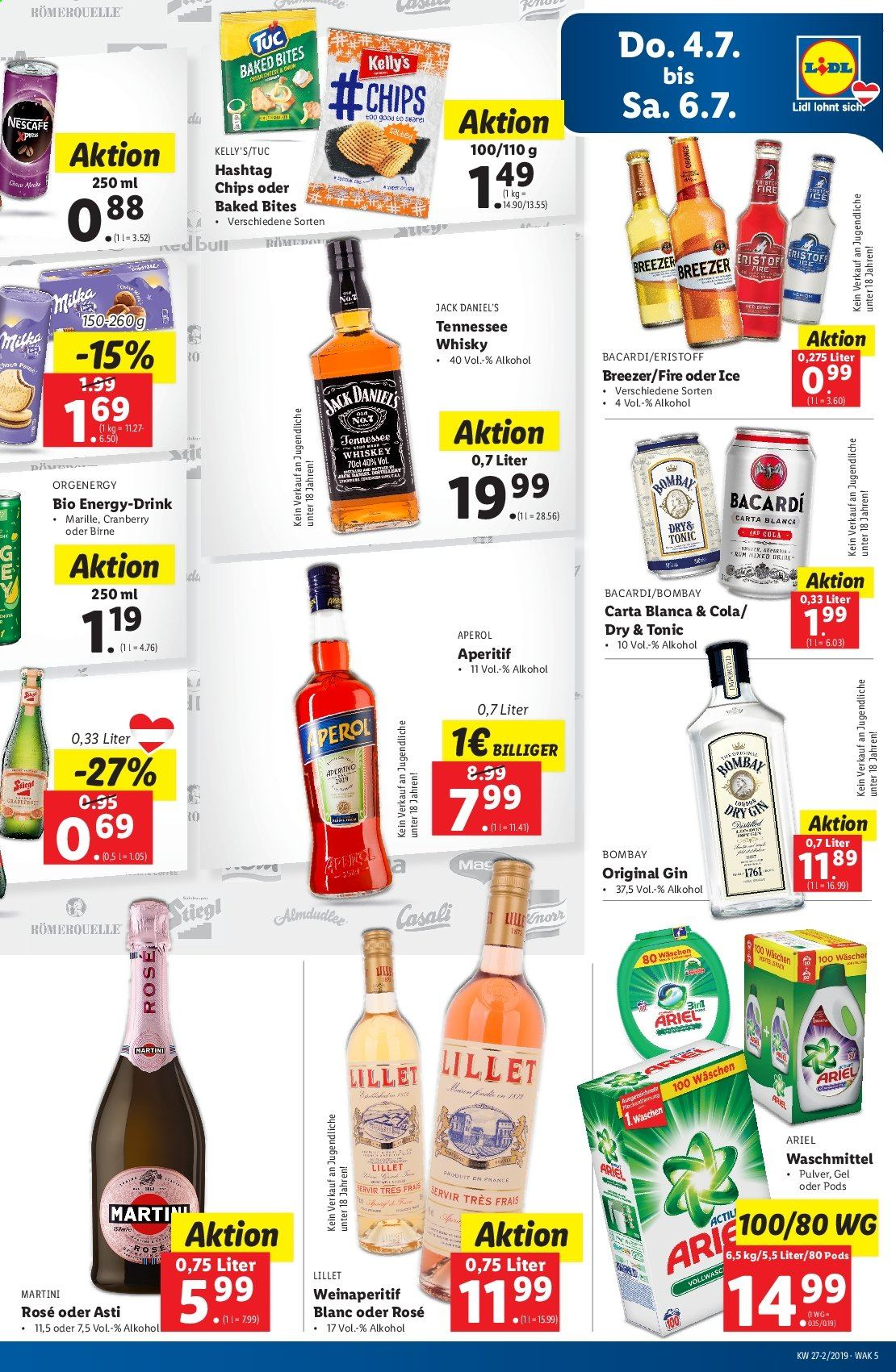Angebote Lidl - 4.7.2019 - 10.7.2019. Seite 5.