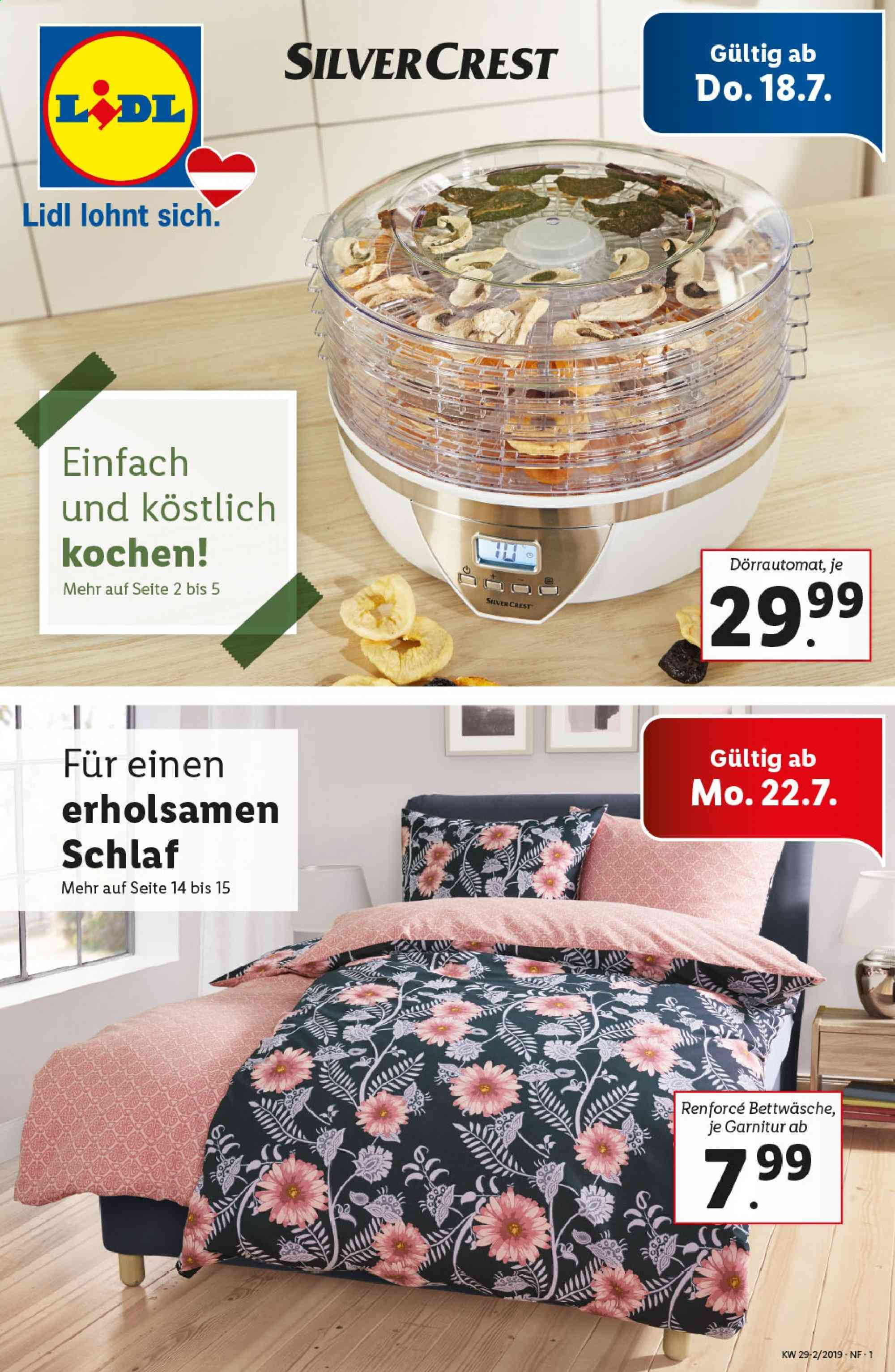 Angebote Lidl - 18.7.2019 - 24.7.2019. Seite 1.