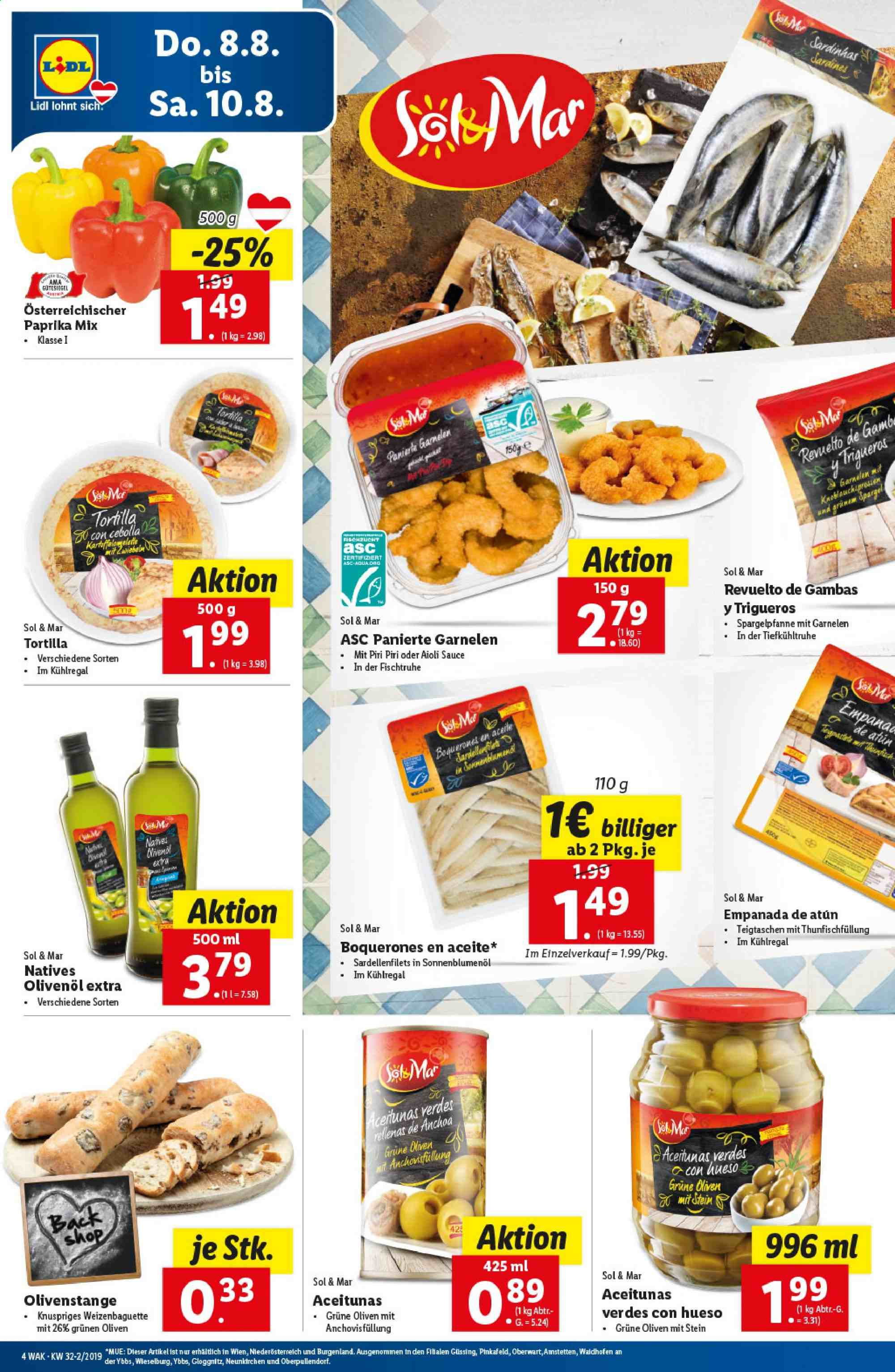 Angebote Lidl - 8.8.2019 - 14.8.2019. Seite 4.