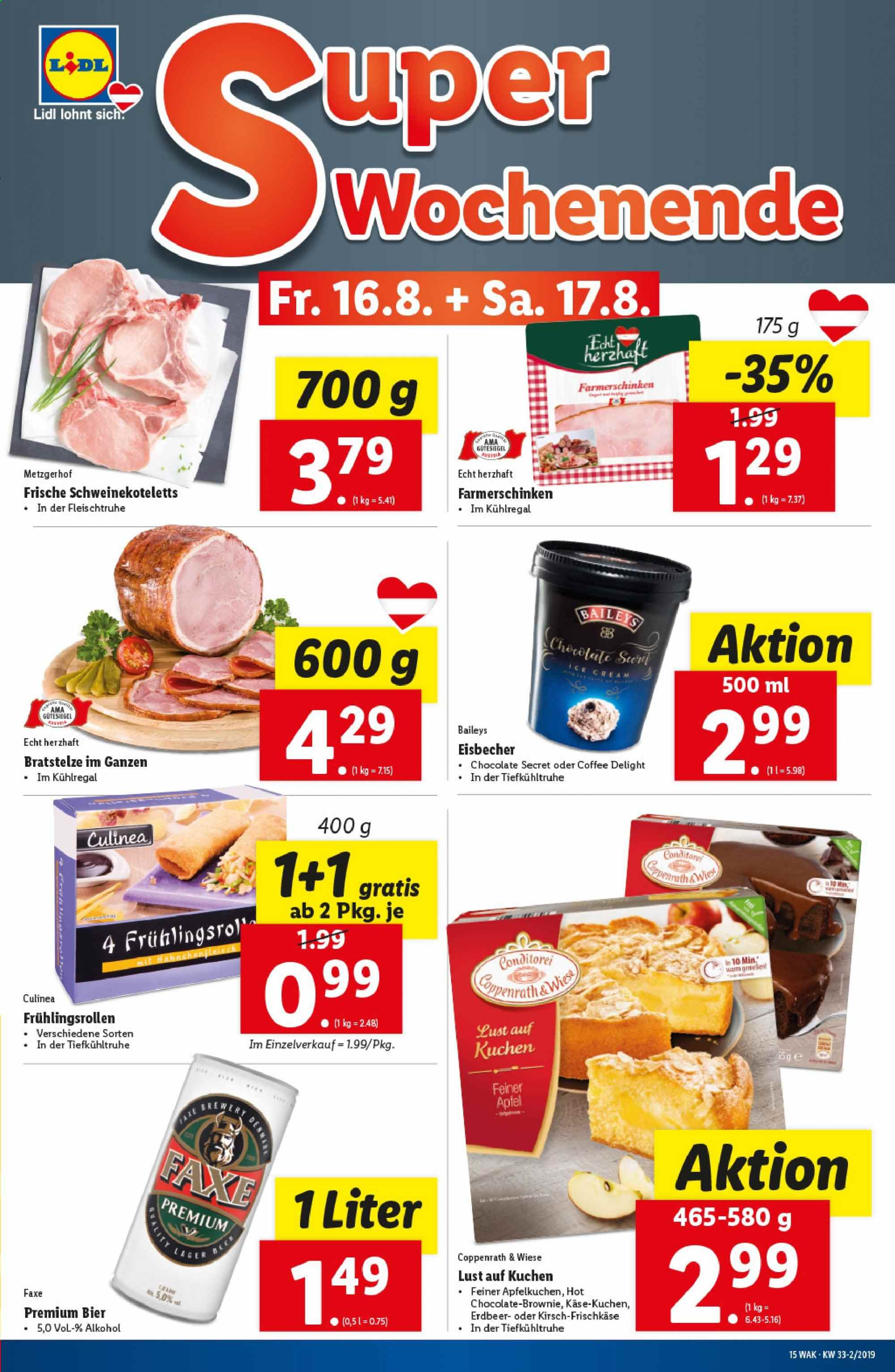 Angebote Lidl - 14.8.2019 - 21.8.2019. Seite 15.