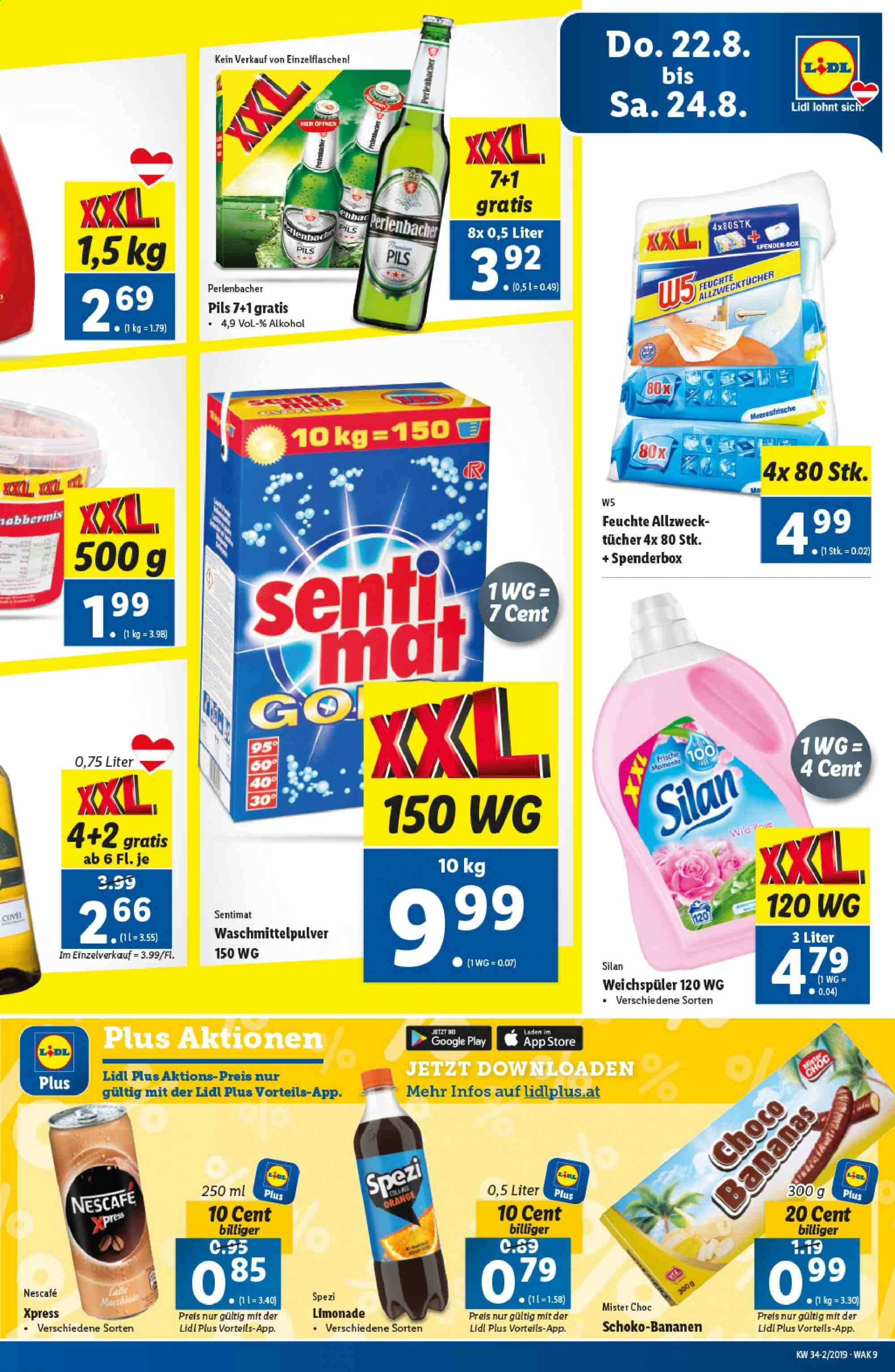 Angebote Lidl - 22.8.2019 - 28.8.2019. Seite 9.