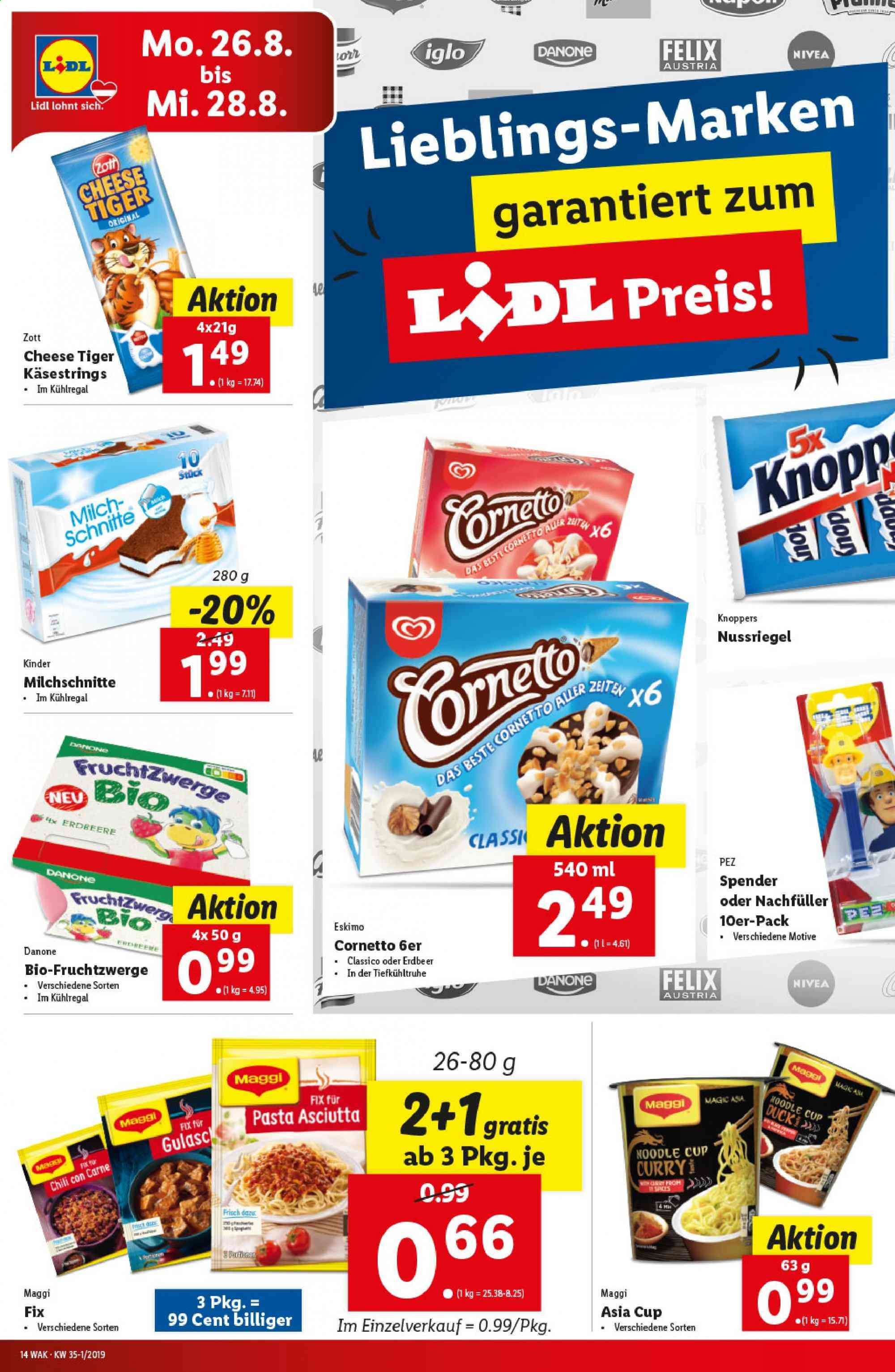 Angebote Lidl - 22.8.2019 - 28.8.2019. Seite 14.