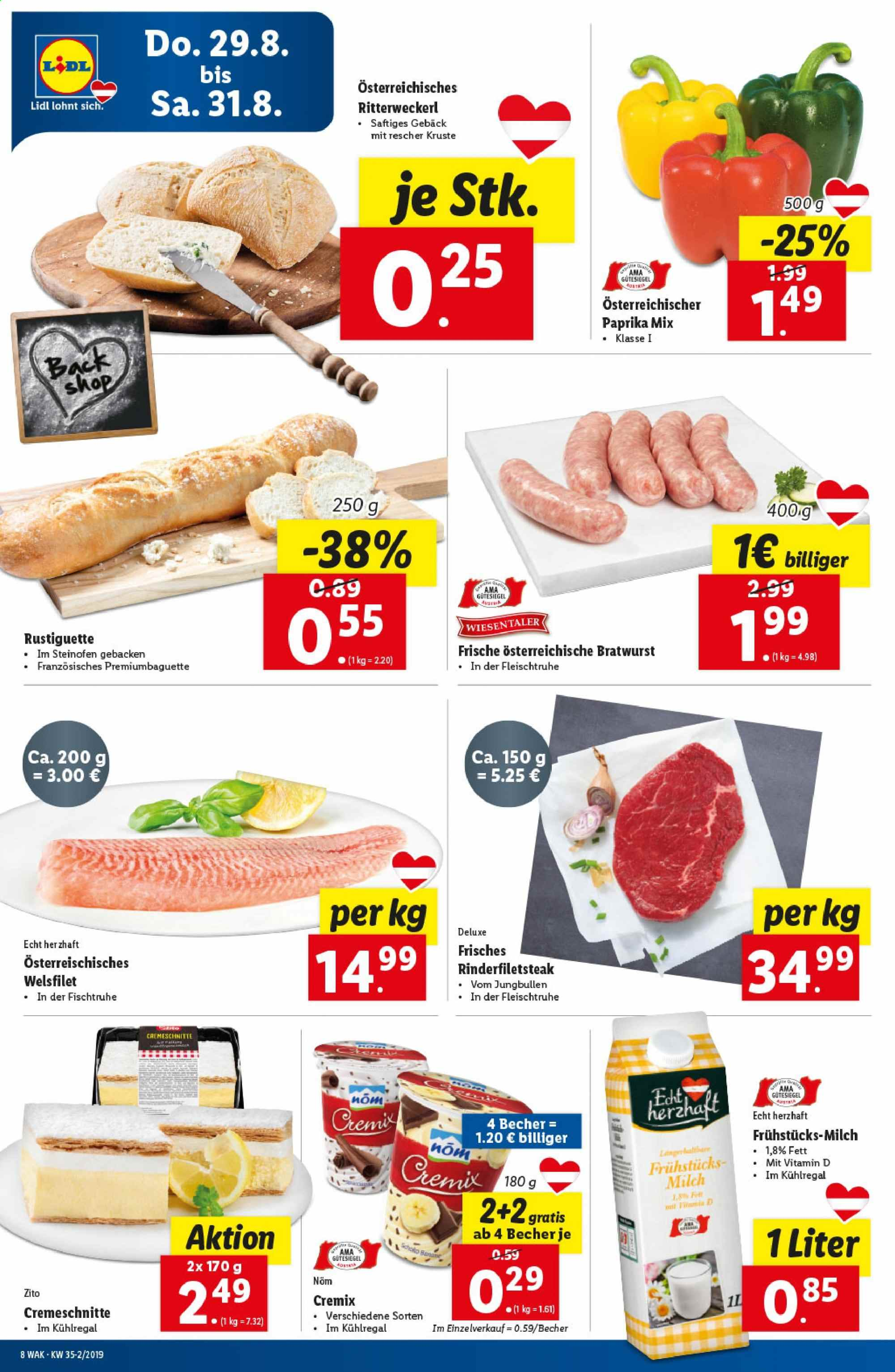 Angebote Lidl - 29.8.2019 - 4.9.2019. Seite 8.