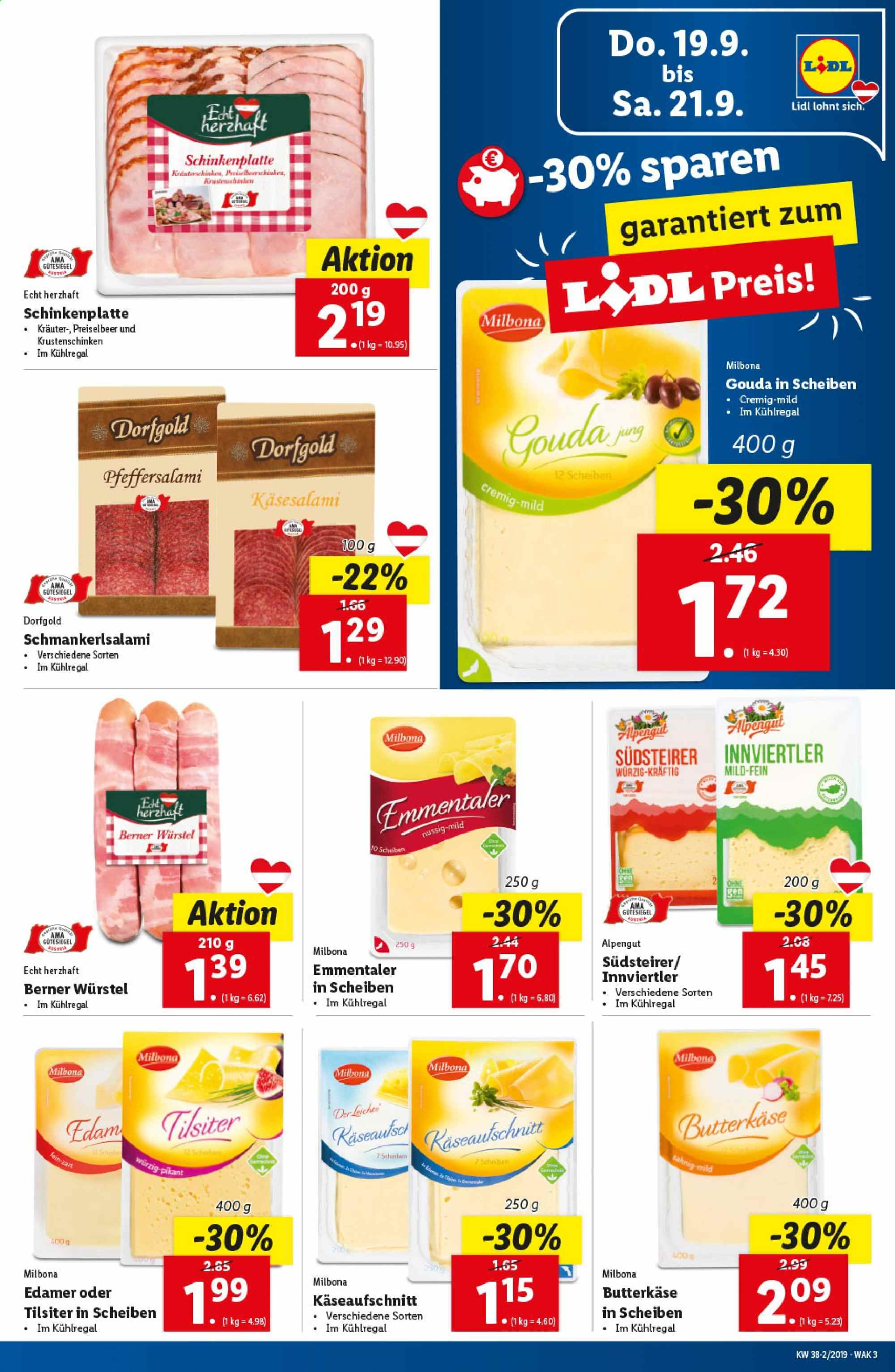 Angebote Lidl - 19.9.2019 - 25.9.2019. Seite 3.