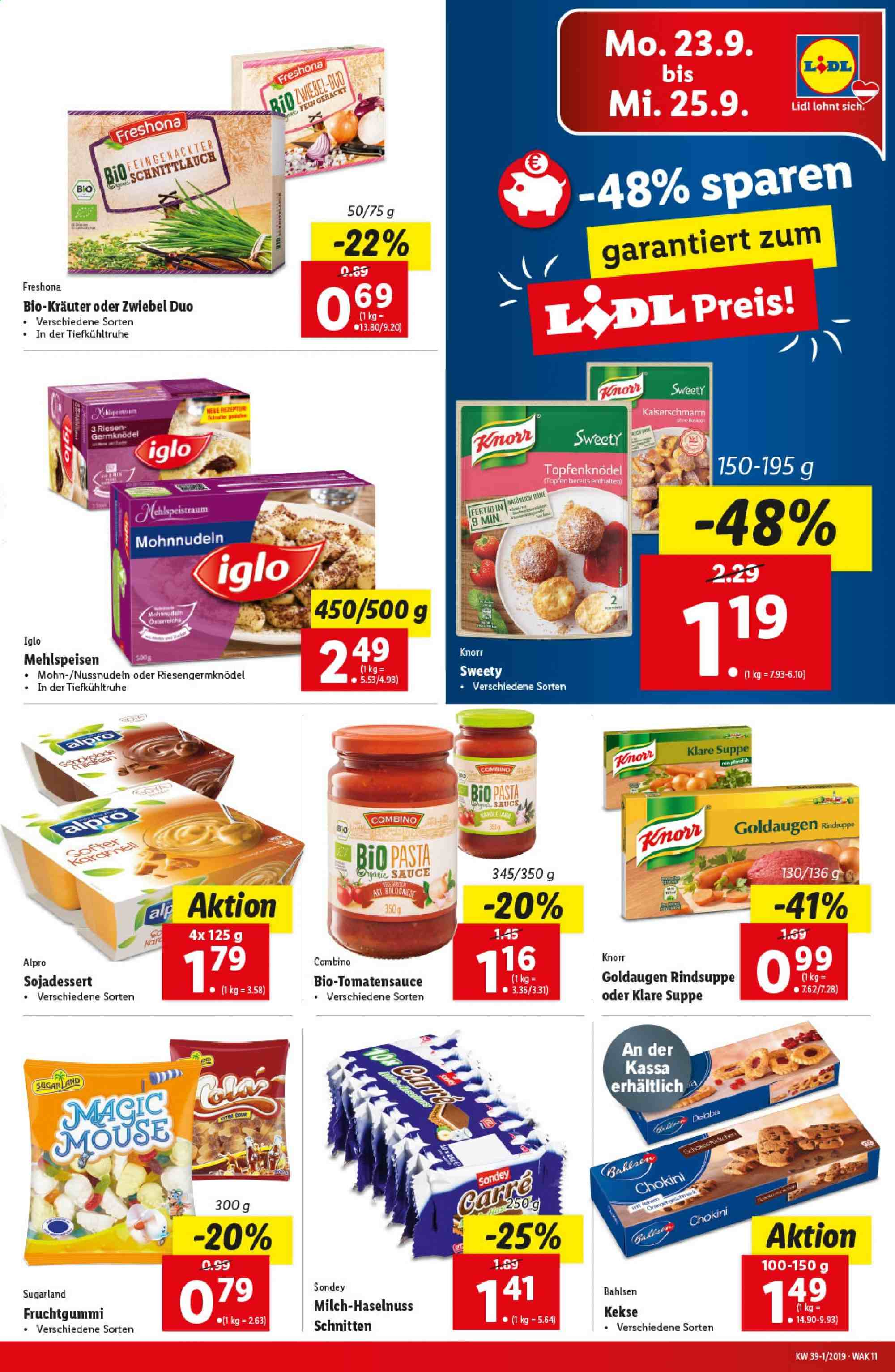 Angebote Lidl - 19.9.2019 - 25.9.2019. Seite 11.