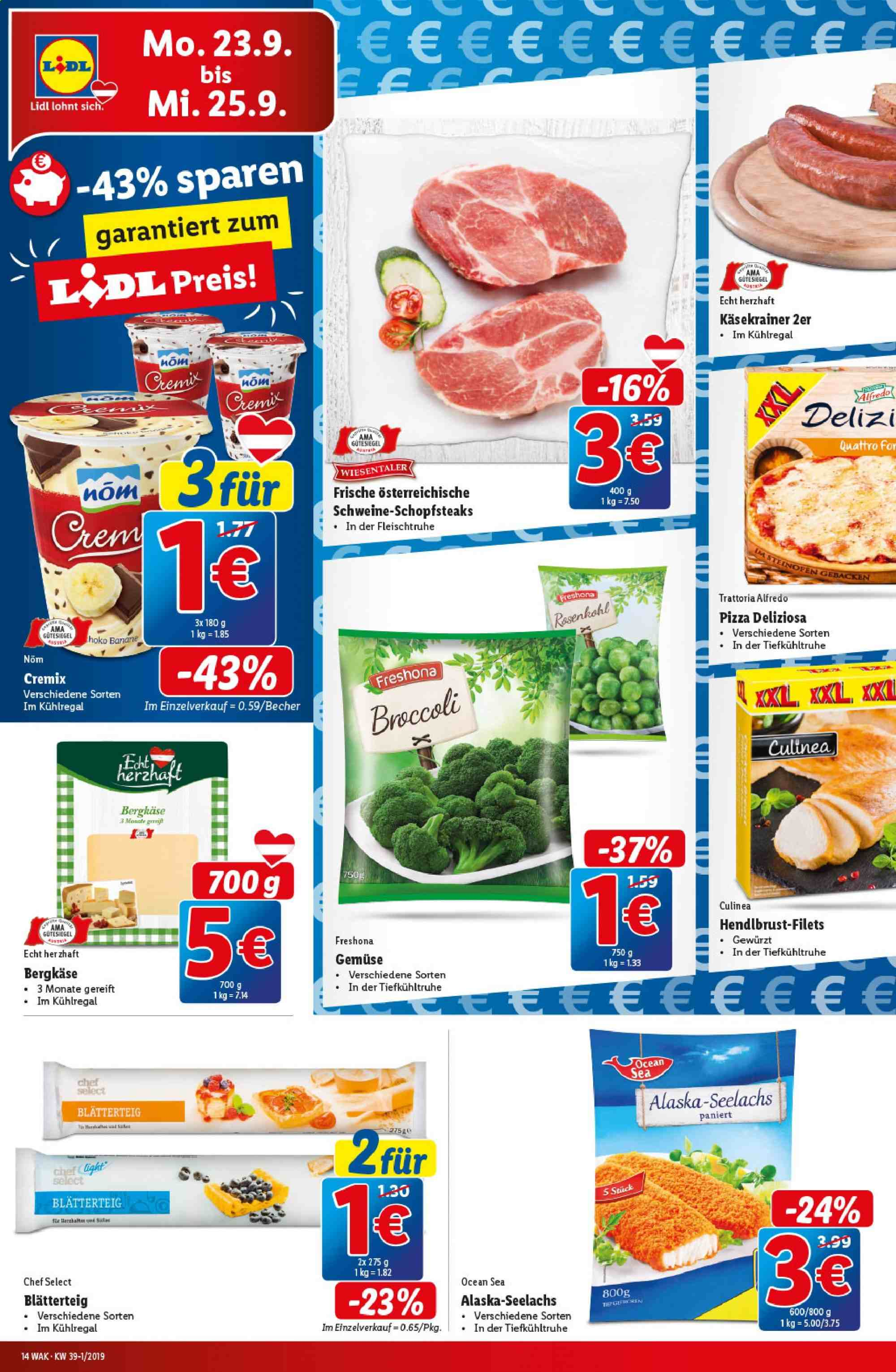 Angebote Lidl - 19.9.2019 - 25.9.2019. Seite 14.