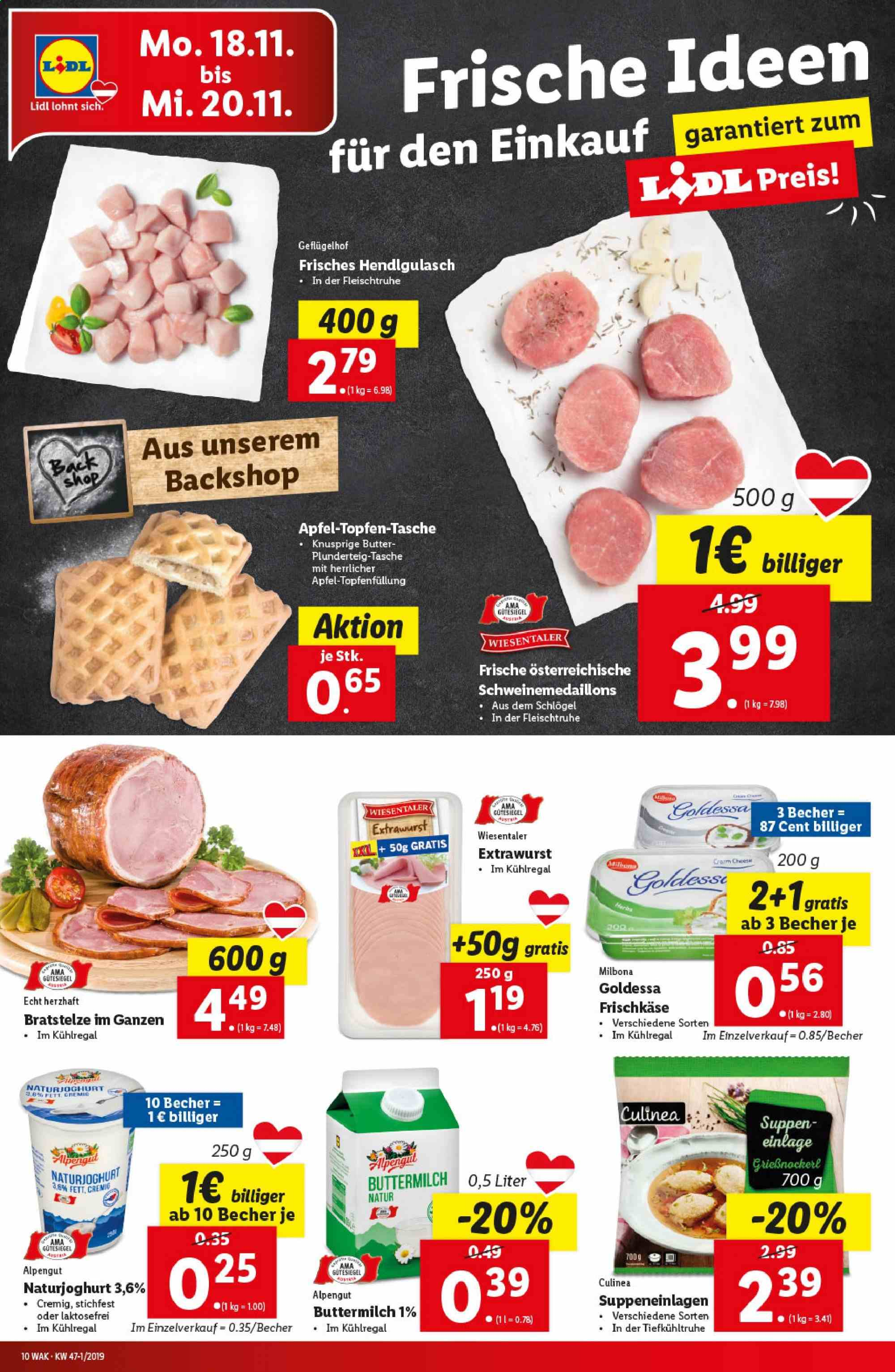 Angebote Lidl - 14.11.2019 - 20.11.2019. Seite 10.